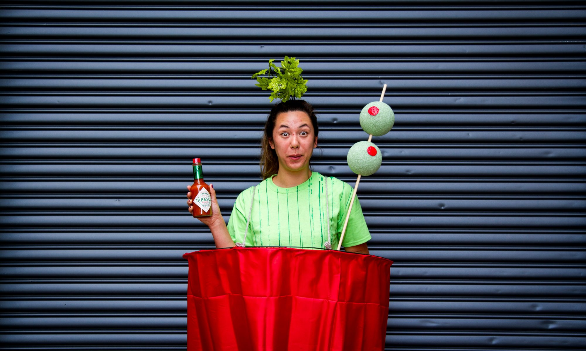 This Bloody Mary DIY Halloween Costume Is Spicy, Not Scary