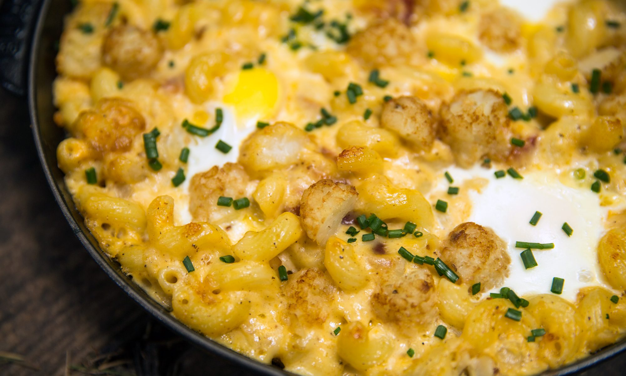 Wake Up and Bake Some Breakfast Mac and Cheese