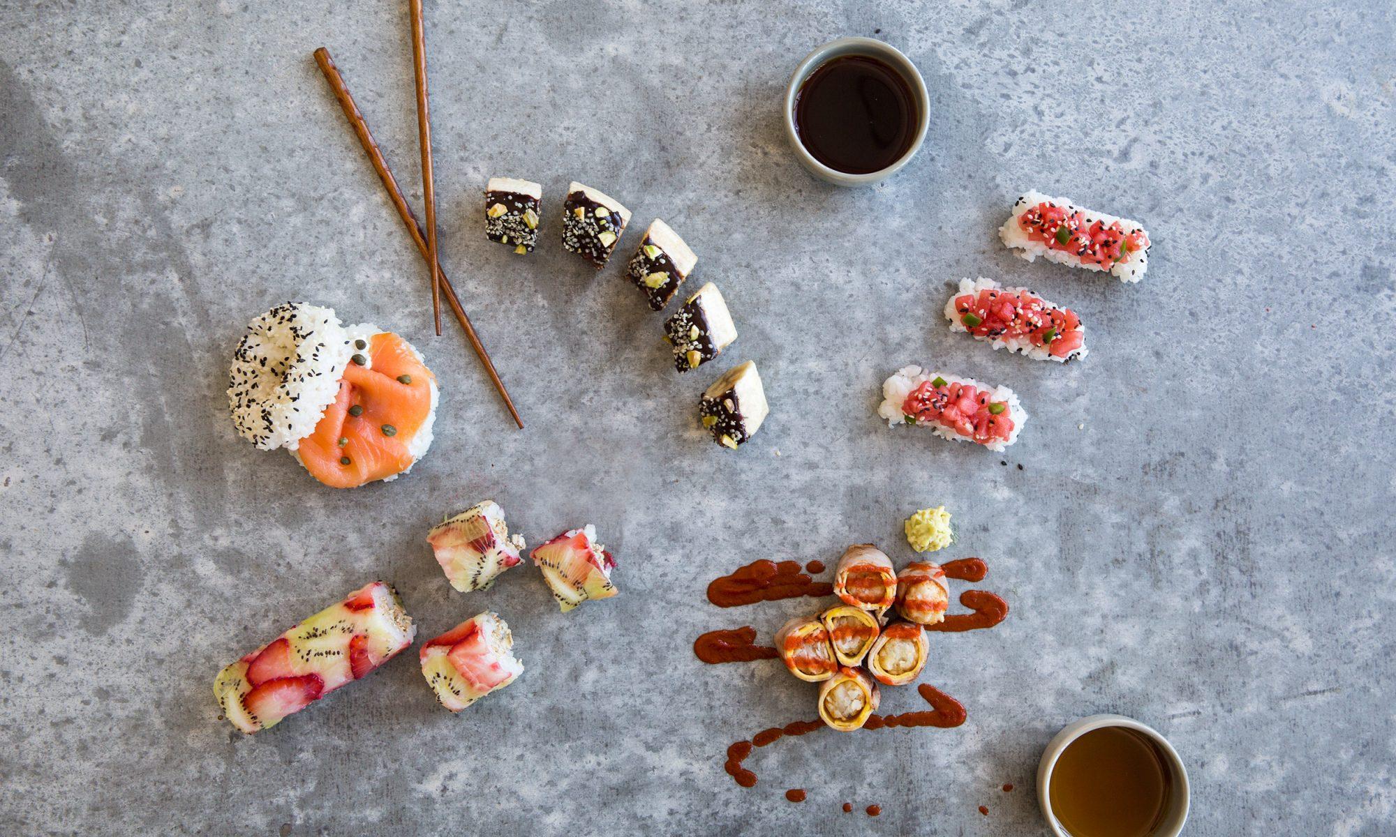 Throw a DIY Breakfast Sushi Party