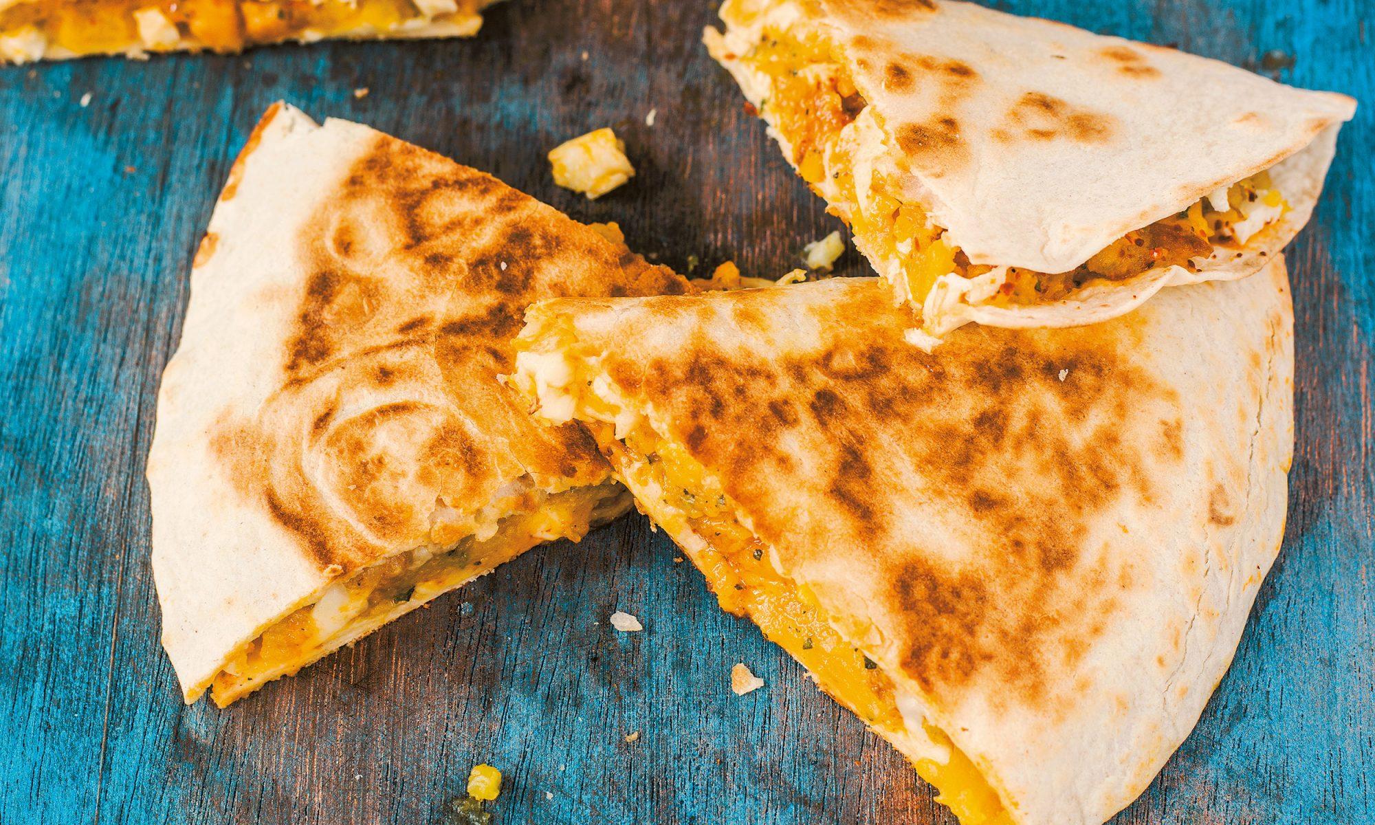 Fall In Love with Butternut Squash Quesadillas