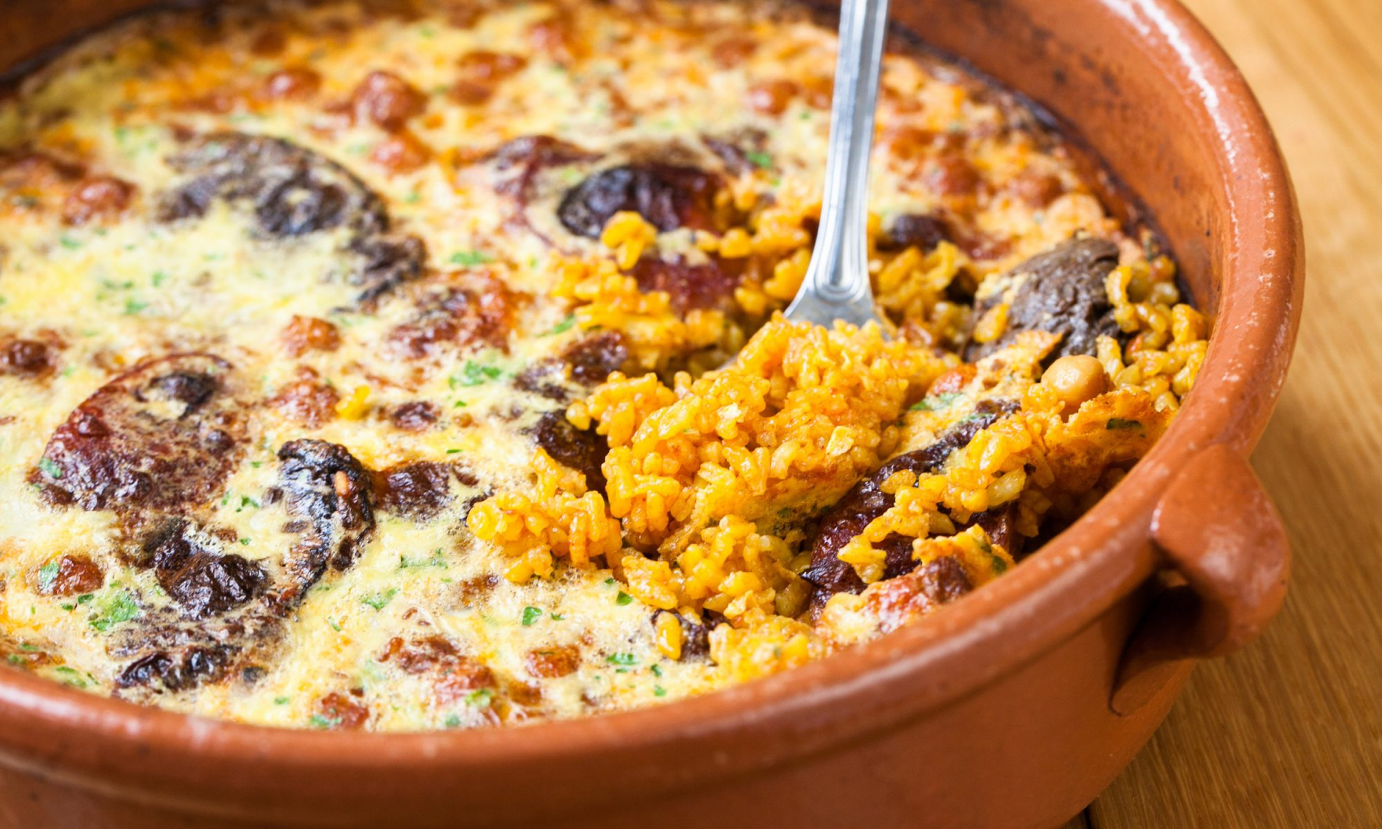 EC: Frittata + Rice Casserole = Breakfast Paella