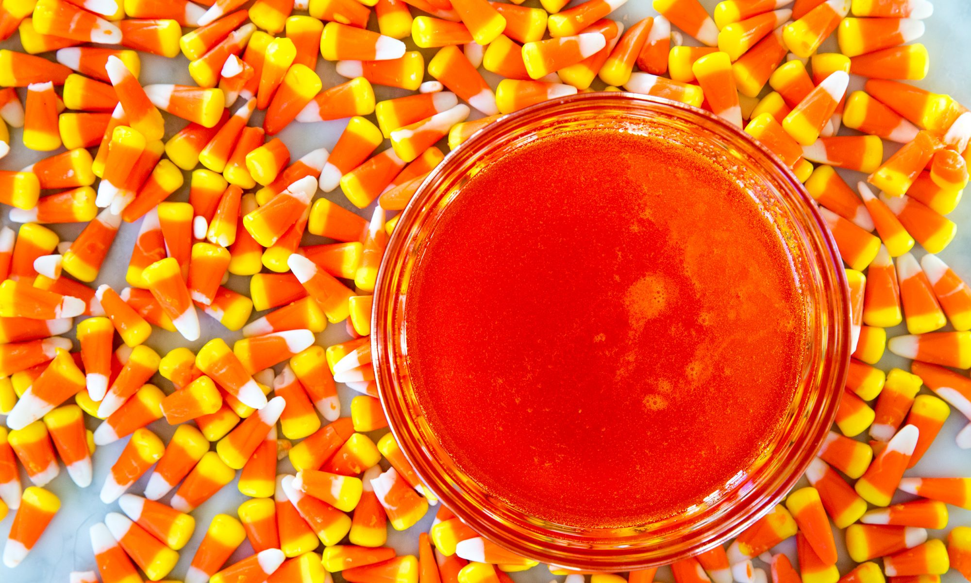 How to Melt Candy Corn into a Simple Syrup