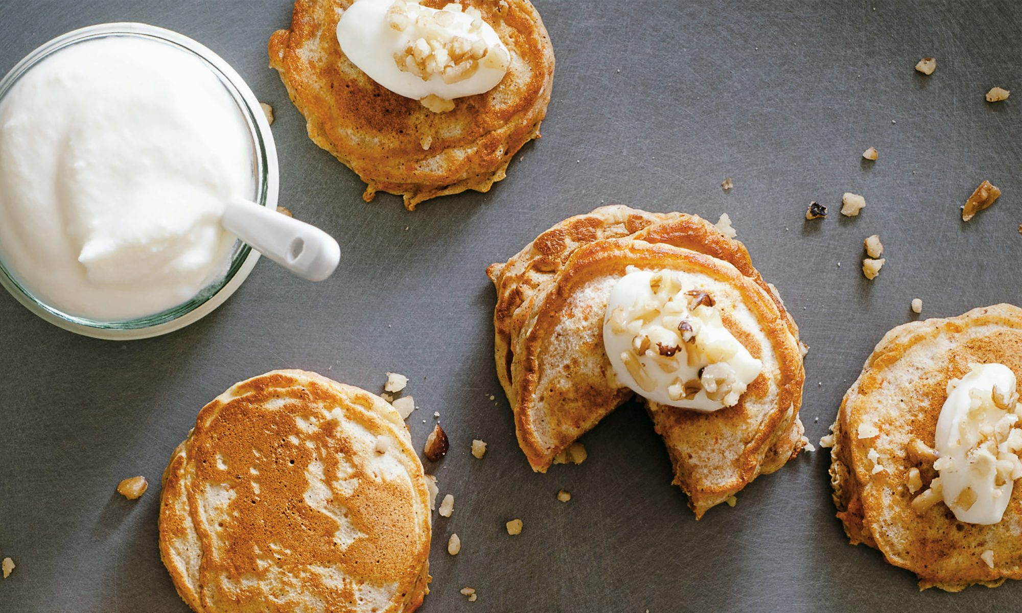 Make Carrot Cake Pancakes with Fall Flavors