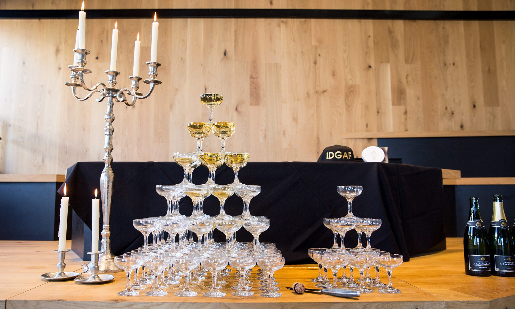 EC: A Champagne Tower Makes Your Brunch So Damn Fancy