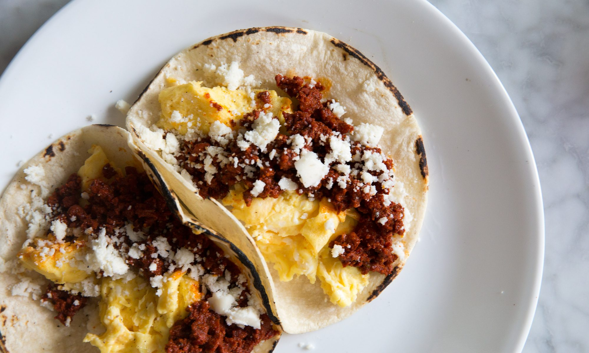 EC: 4-Ingredient Chorizo and Egg Breakfast Tacos Save Time, Cash, and Your Morning