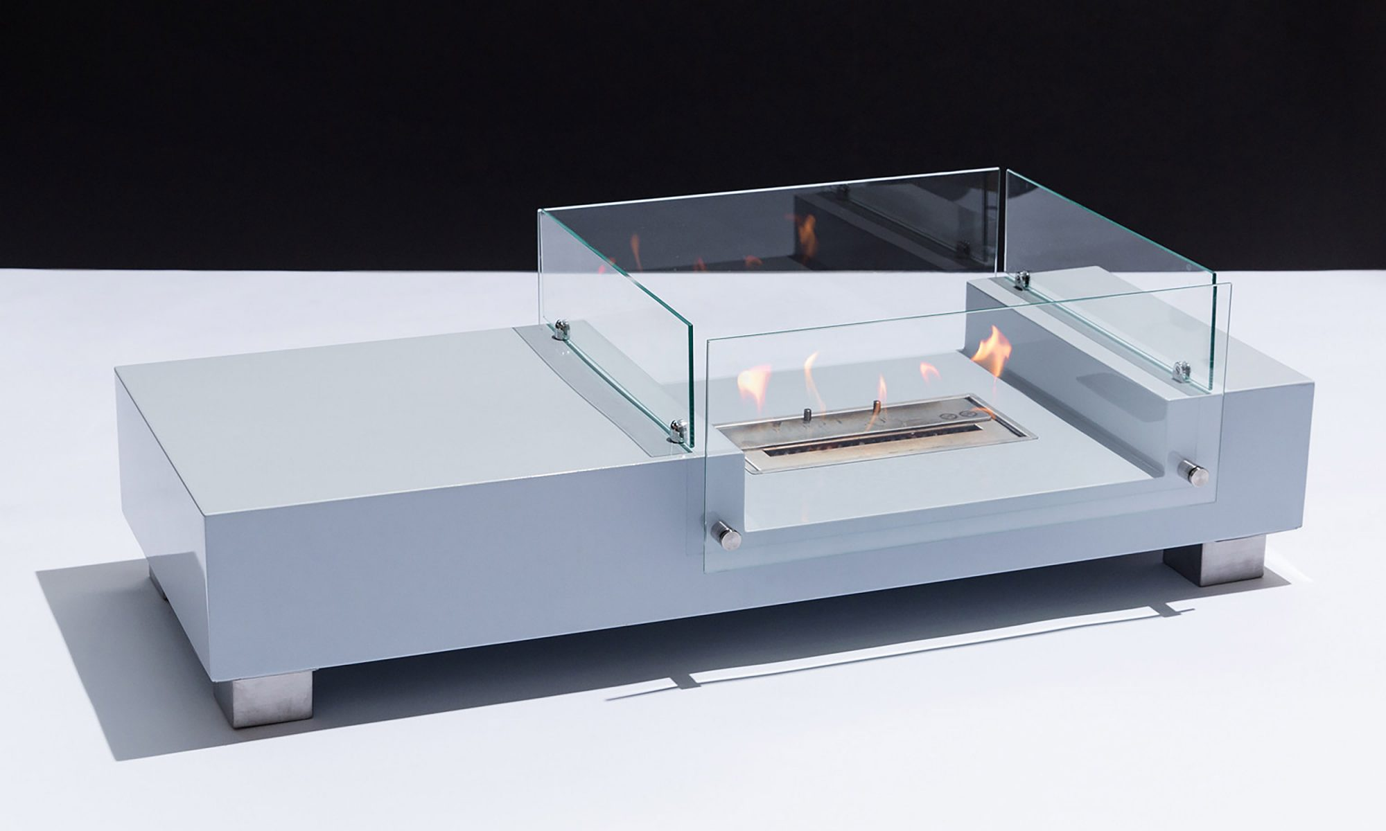 EC: This Fireplace Coffee Table Will Make Winter Mornings More Bearable