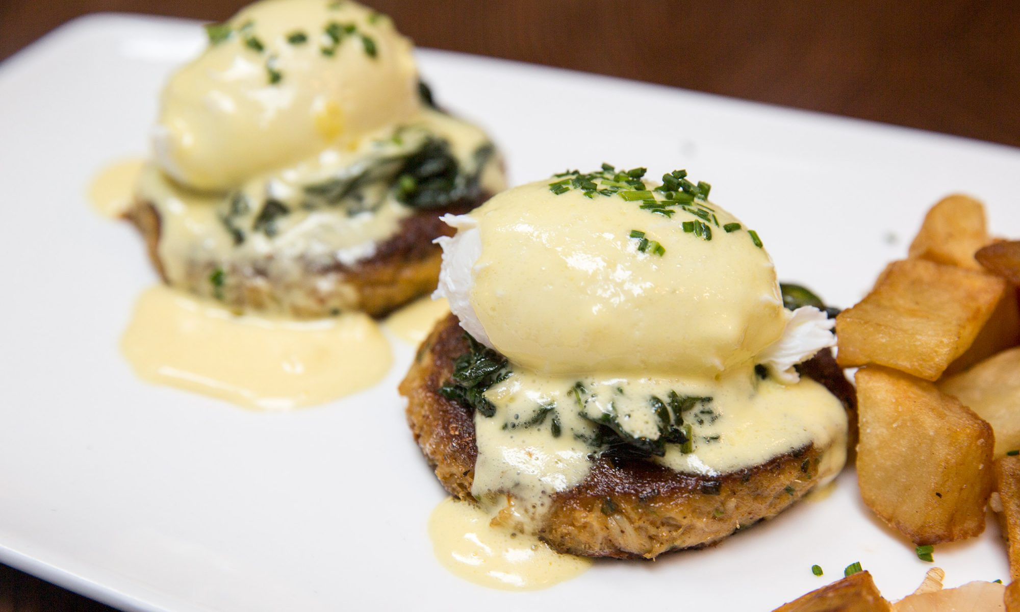 EC: Crab Cake Eggs Benedict Is a Quintessential Chesapeake Bay Breakfast