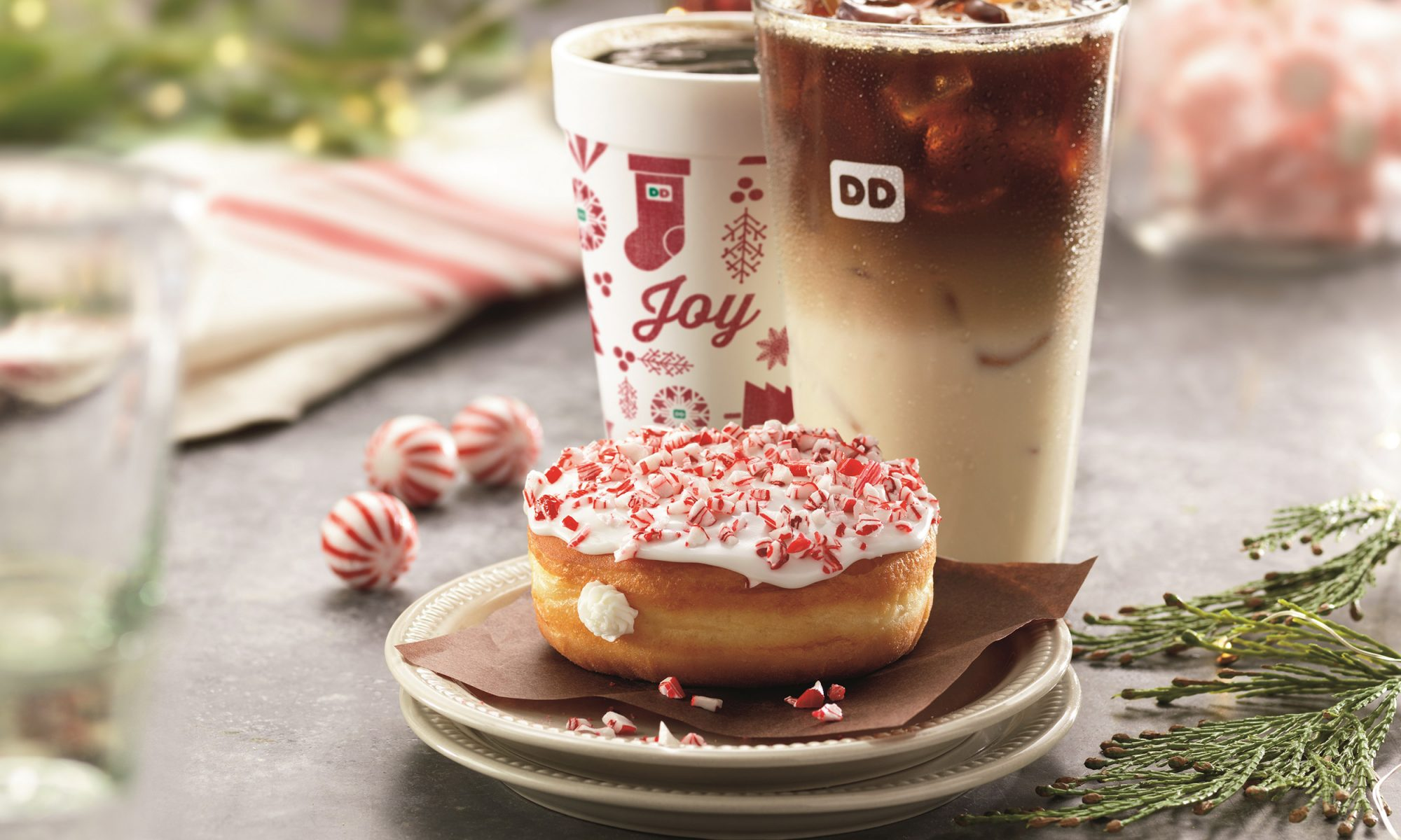 EC: Dunkin' Is So Ready for the Holidays with New Christmas Doughnuts and Drinks