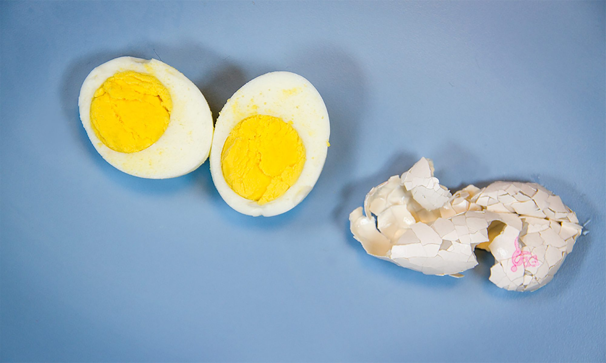 EC: How to Peel a Hard-Boiled Egg in 5 Seconds