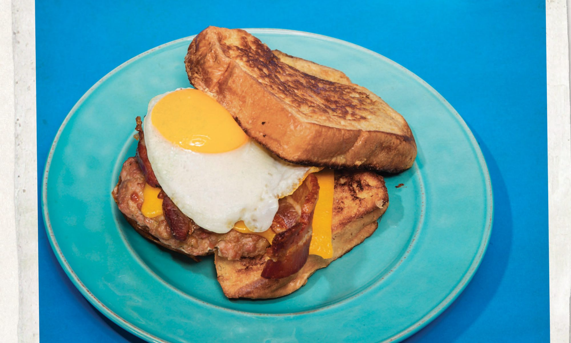 Make a 'Adventure Time'-Inspired French Toast Sandwich