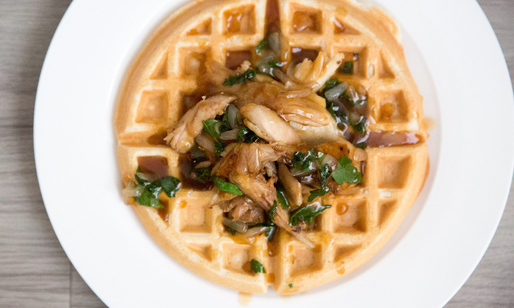EC: Use Thanksgiving Leftovers to Make Fried Turkey and Waffles