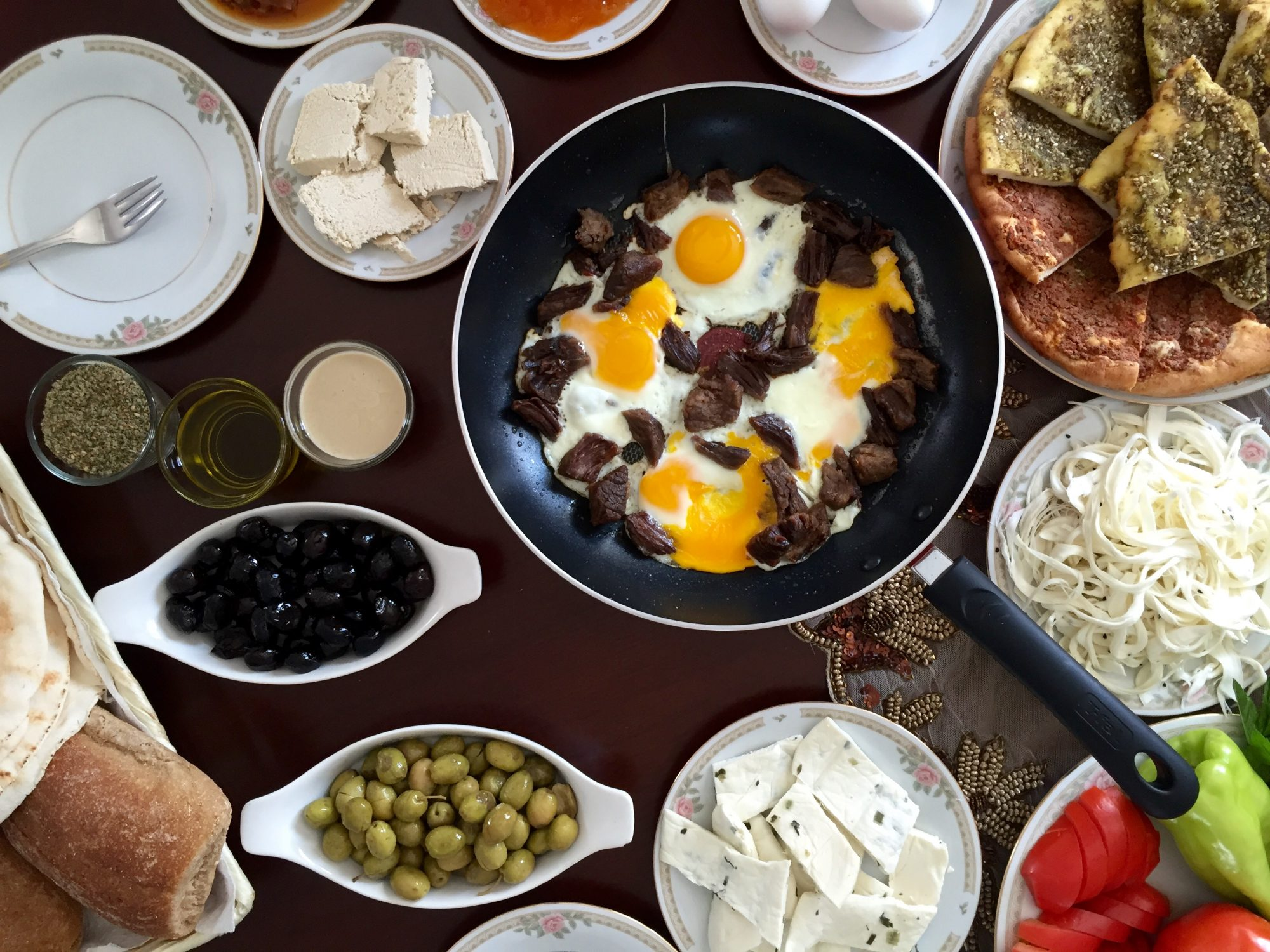 EC: The Many Marvels of Full Syrian Breakfast