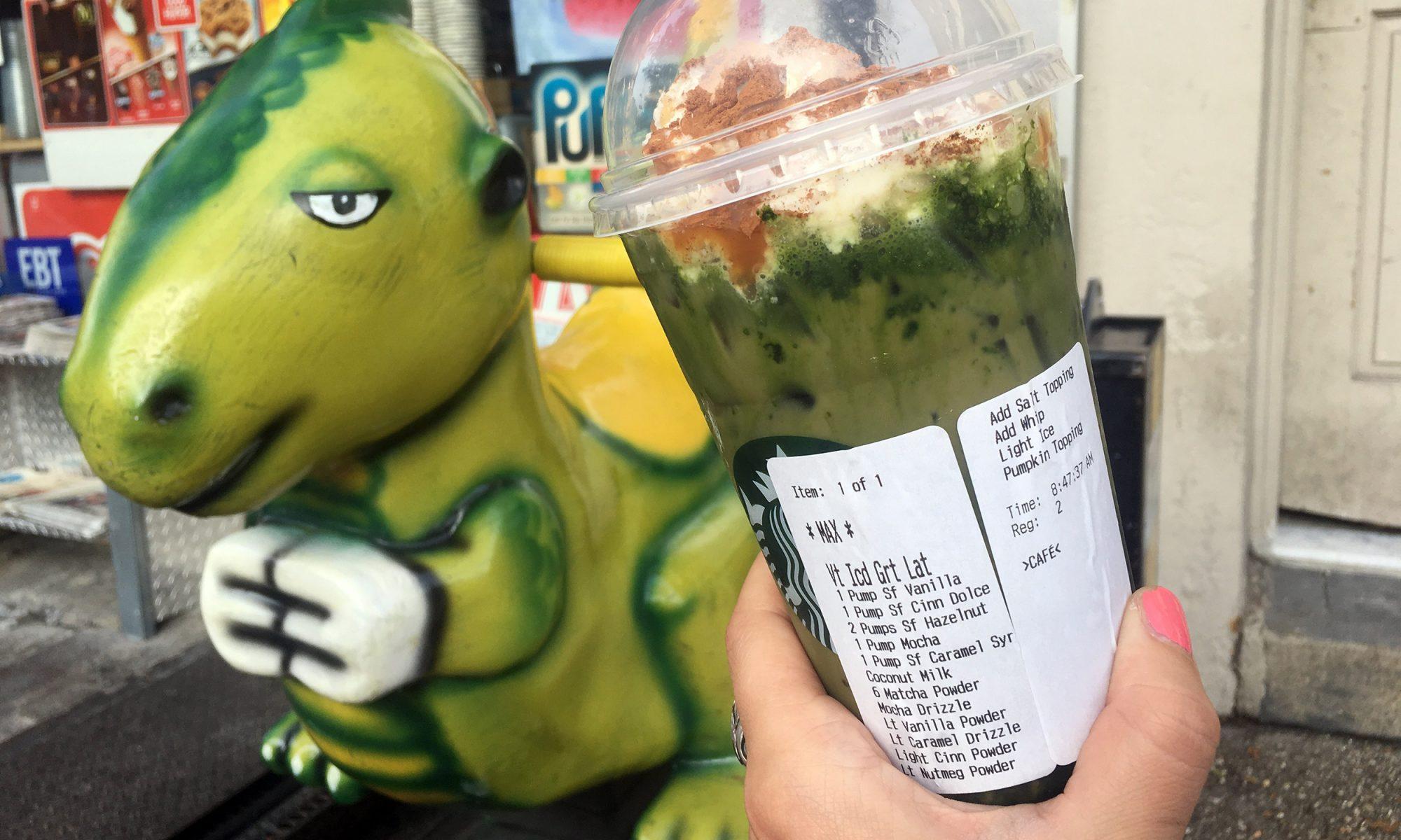 EC: We Tasted Baby Vomit, the New Secret Starbucks Drink