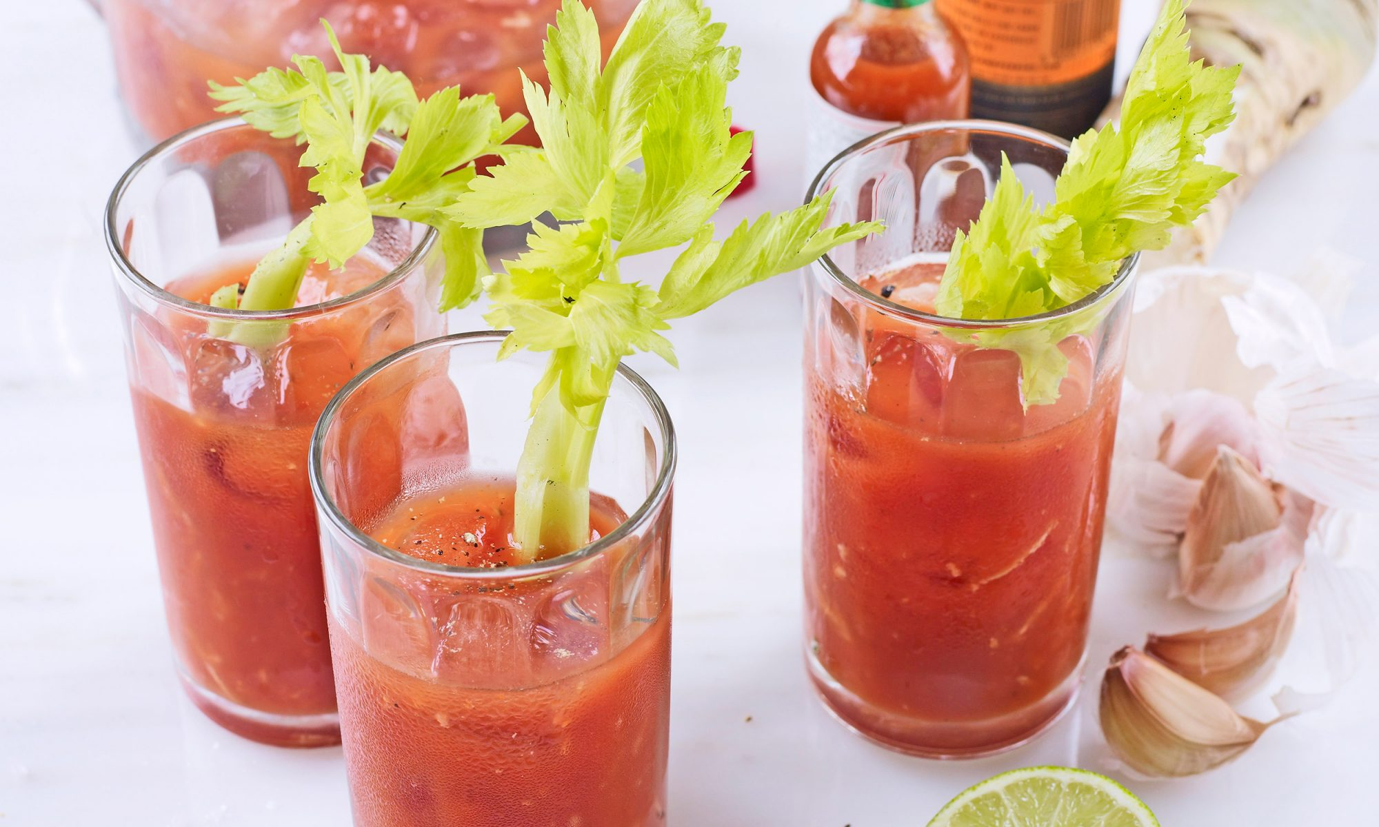 A Garlic Bloody Mary a Day Keeps the Doctor Away