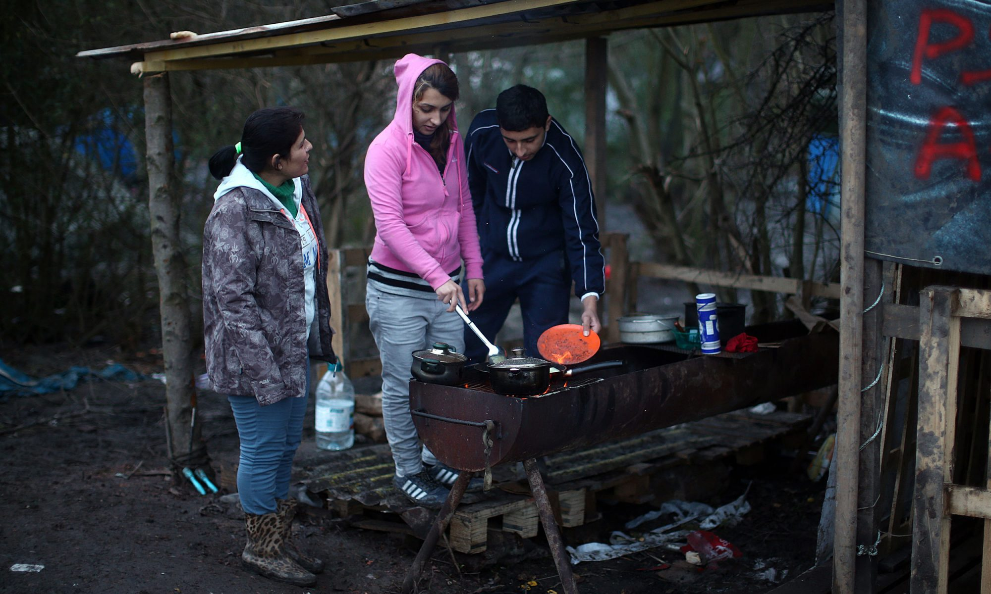 EC: What Breakfast Is Like in a Migrant Camp