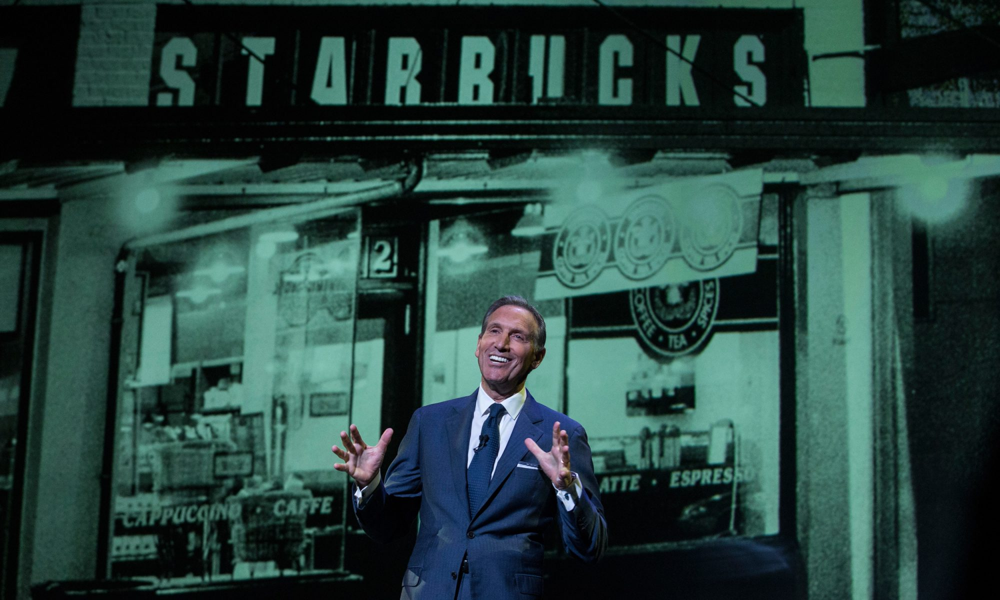 EC: Why Starbucks CEO Howard Schultz Should Run for President