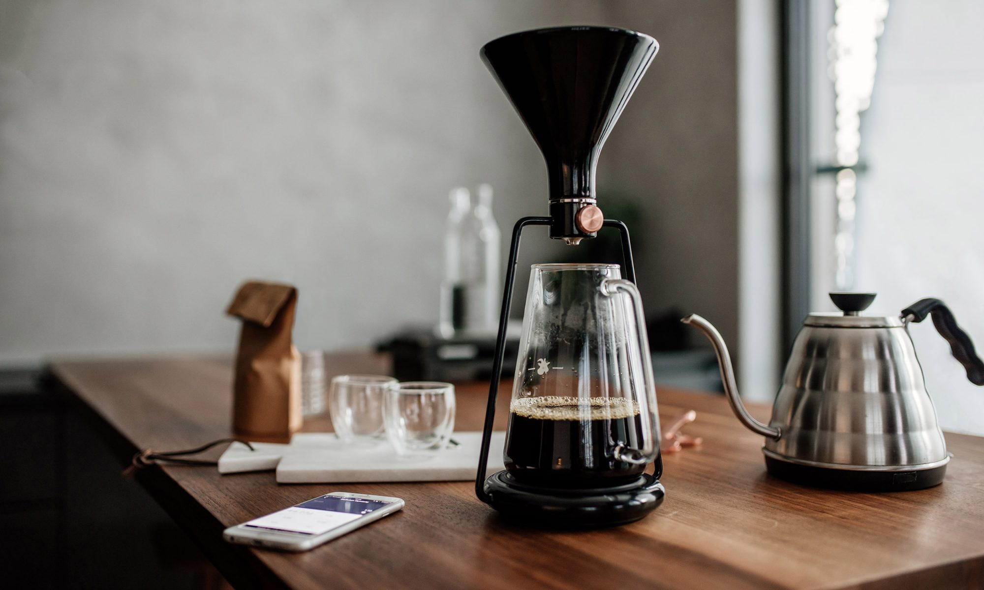 EC: This 3-in-1 Coffee Maker Can Make Pour-Over, French Press, and Cold Brew