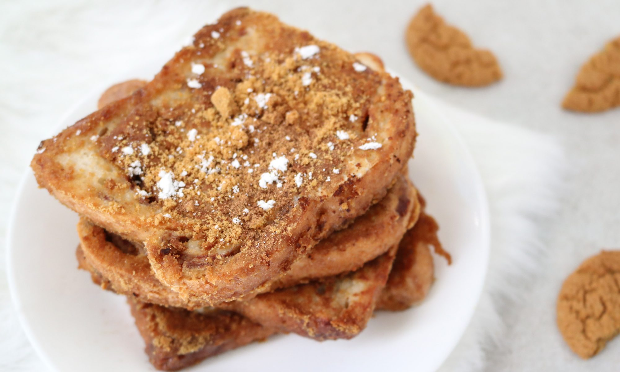 EC: Make This Gingersnap-Crusted French Toast Recipe and Eat Cookies for Breakfast