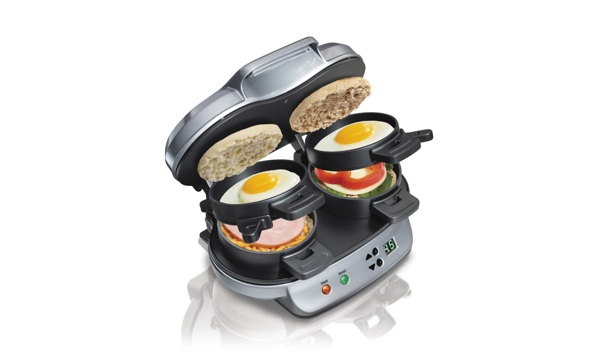 EC: This 2-in-1 Breakfast Sandwich Maker Will Double Your Egg and Cheese Consumption