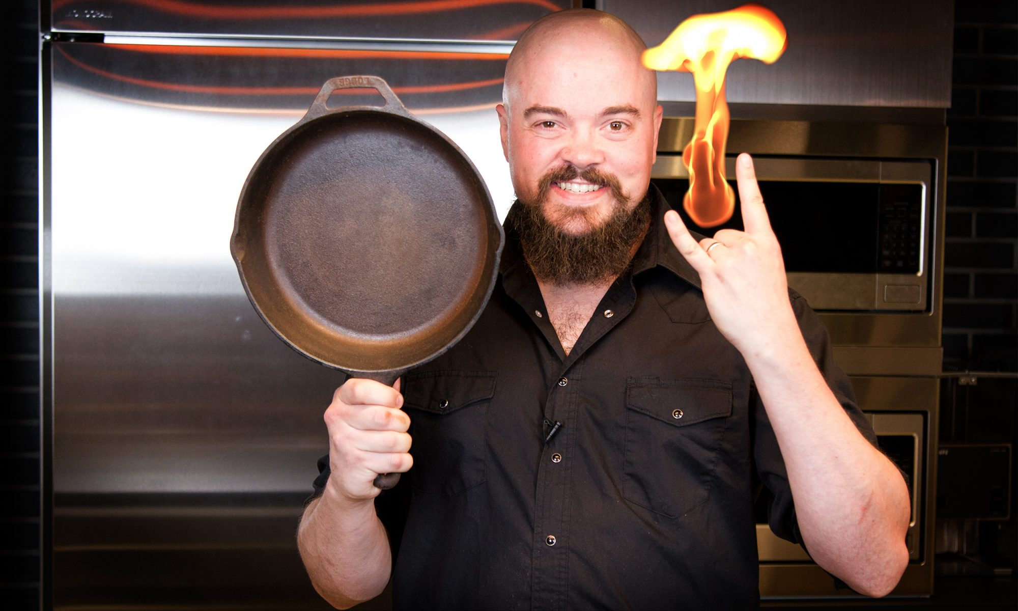 EC: Top Chef Isaac Toups' Quick and Dirty Tips for Cleaning a Cast-Iron Pan