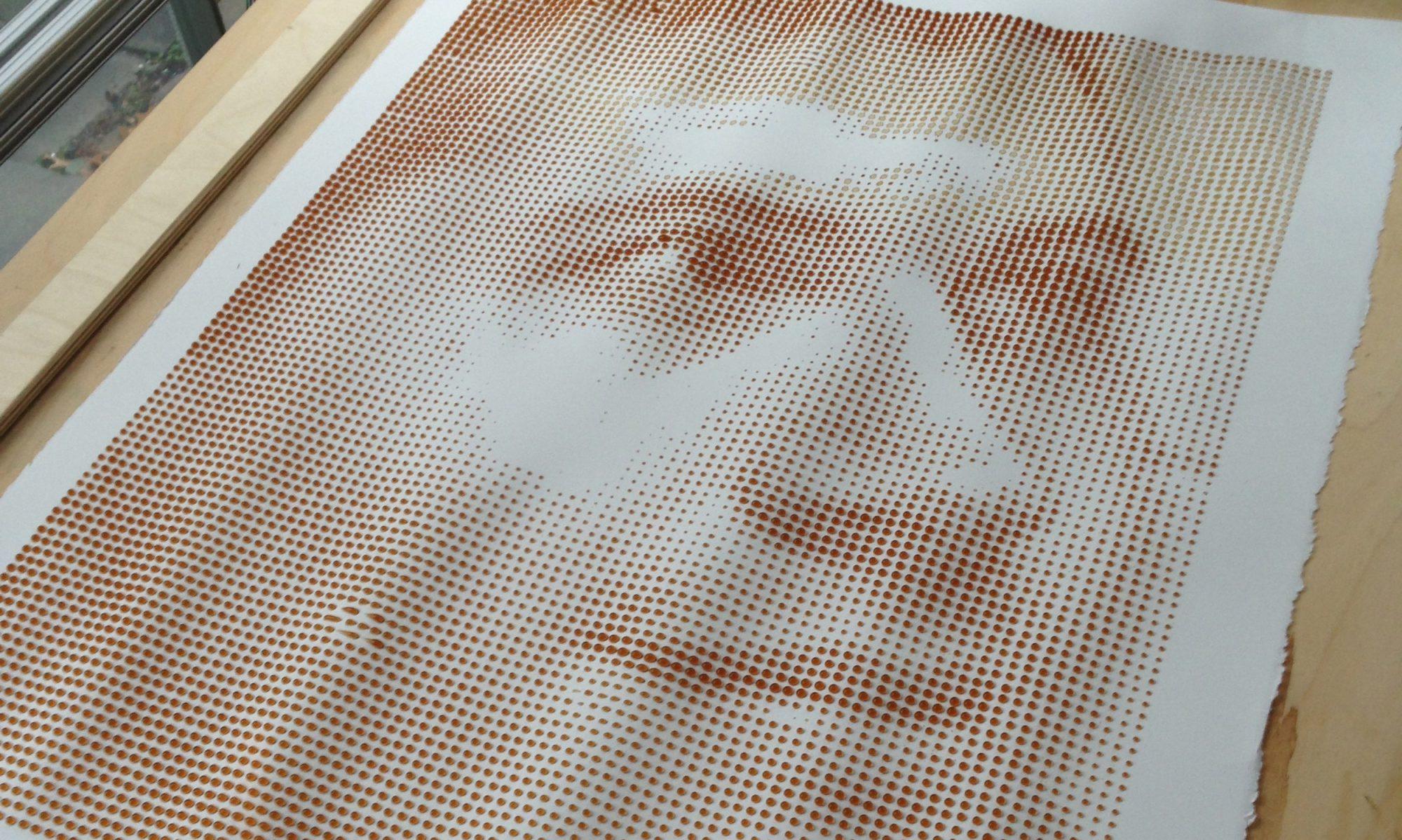 EC: This Coffee Drip Printer Makes Caffeinated Works of Art