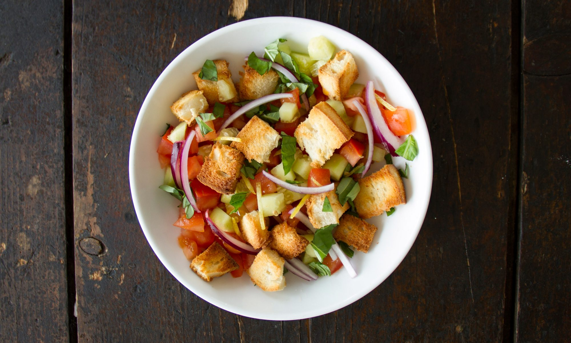 EC: Panzanella: A Clever Way to Use Day-Old Bread and Juicy Tomatoes