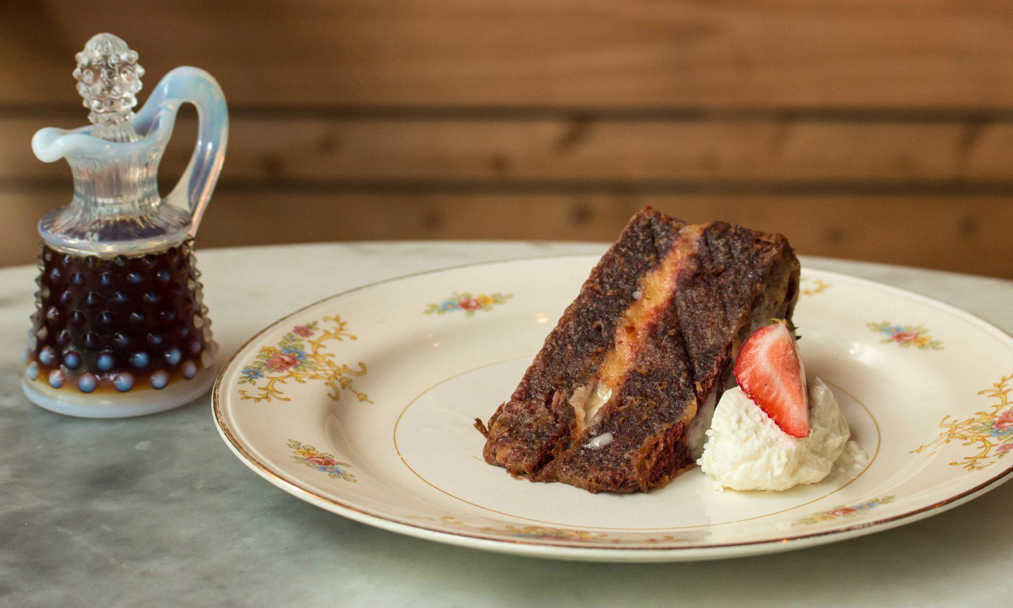 Eat Deep-Fried Cake for Breakfast
