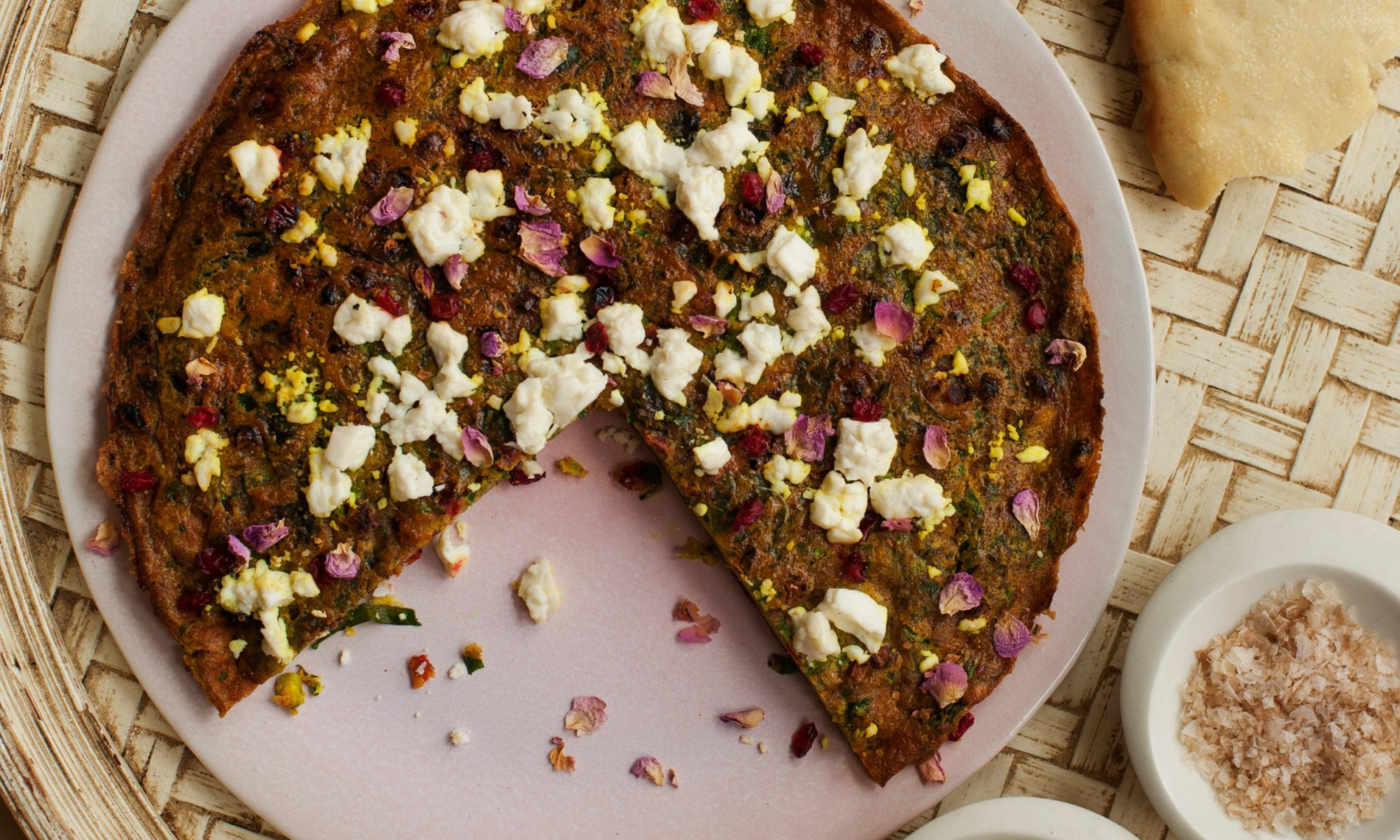 Go Green with a Persian Herb Omelet