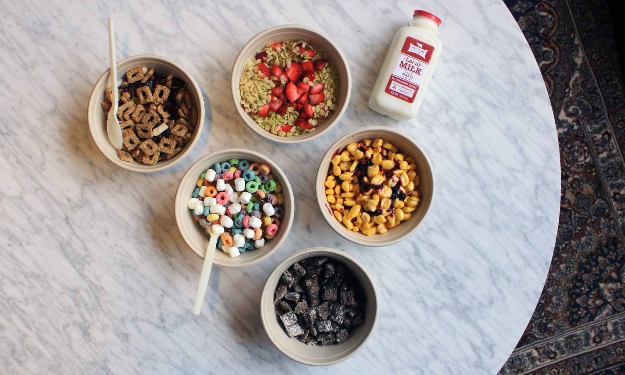 EC: Kellogg's NYC All-Day Cereal Cafe Is a Grown-Up Sugar Rush
