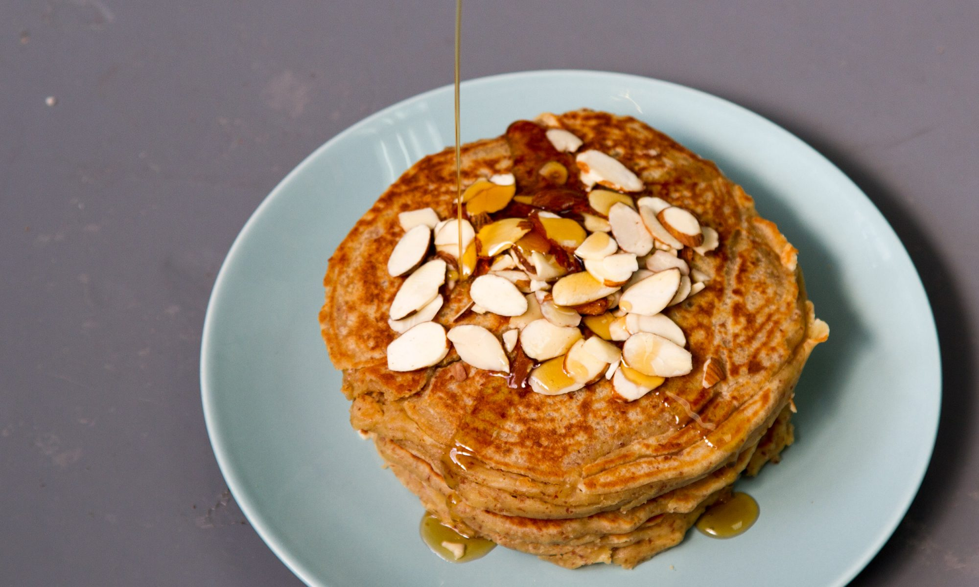 Quinoa Almond Pancakes Are a Gluten-Free, Refined Sugar-Free Brunch Victory