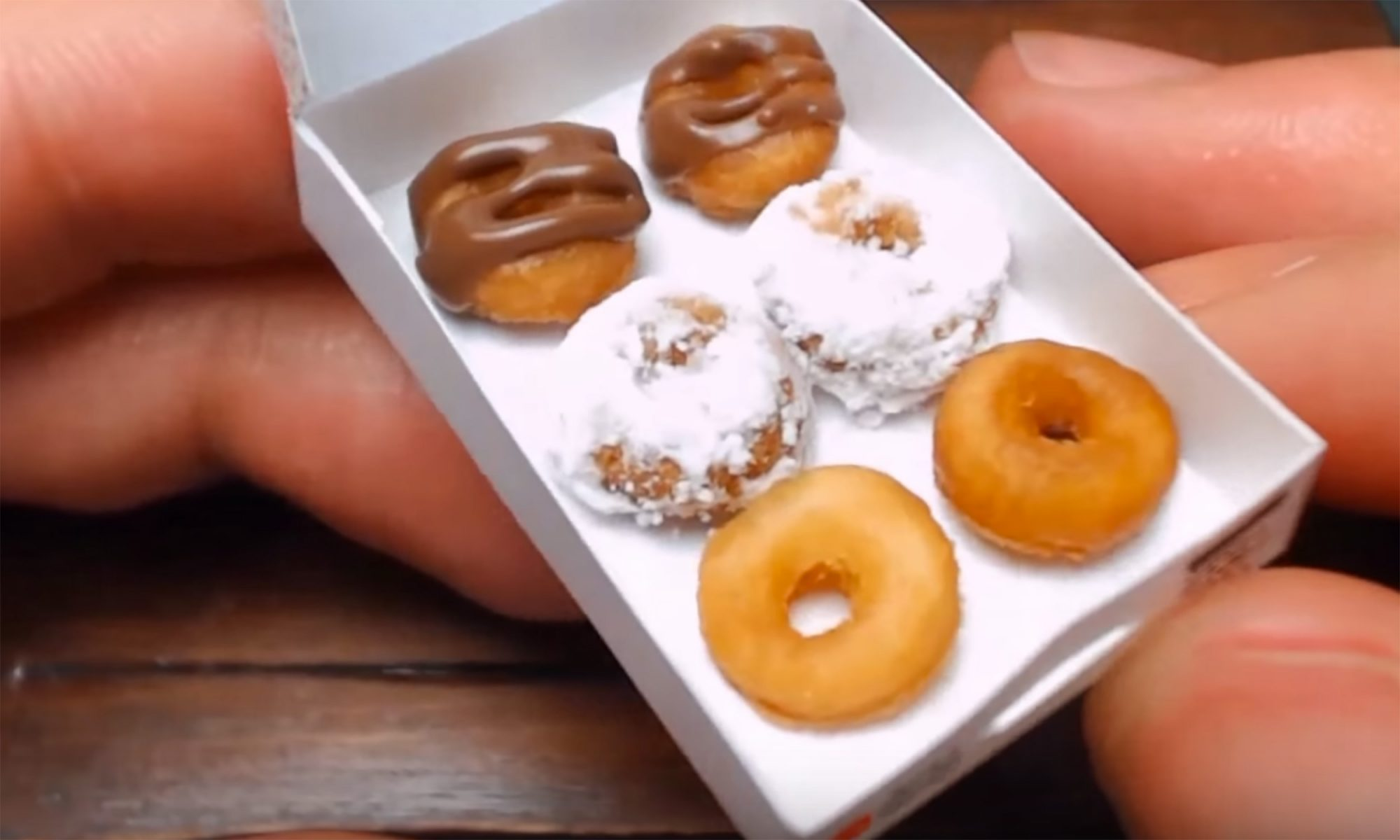 EC: The World's Most Low-Calorie Doughnuts Are Also the Tiniest