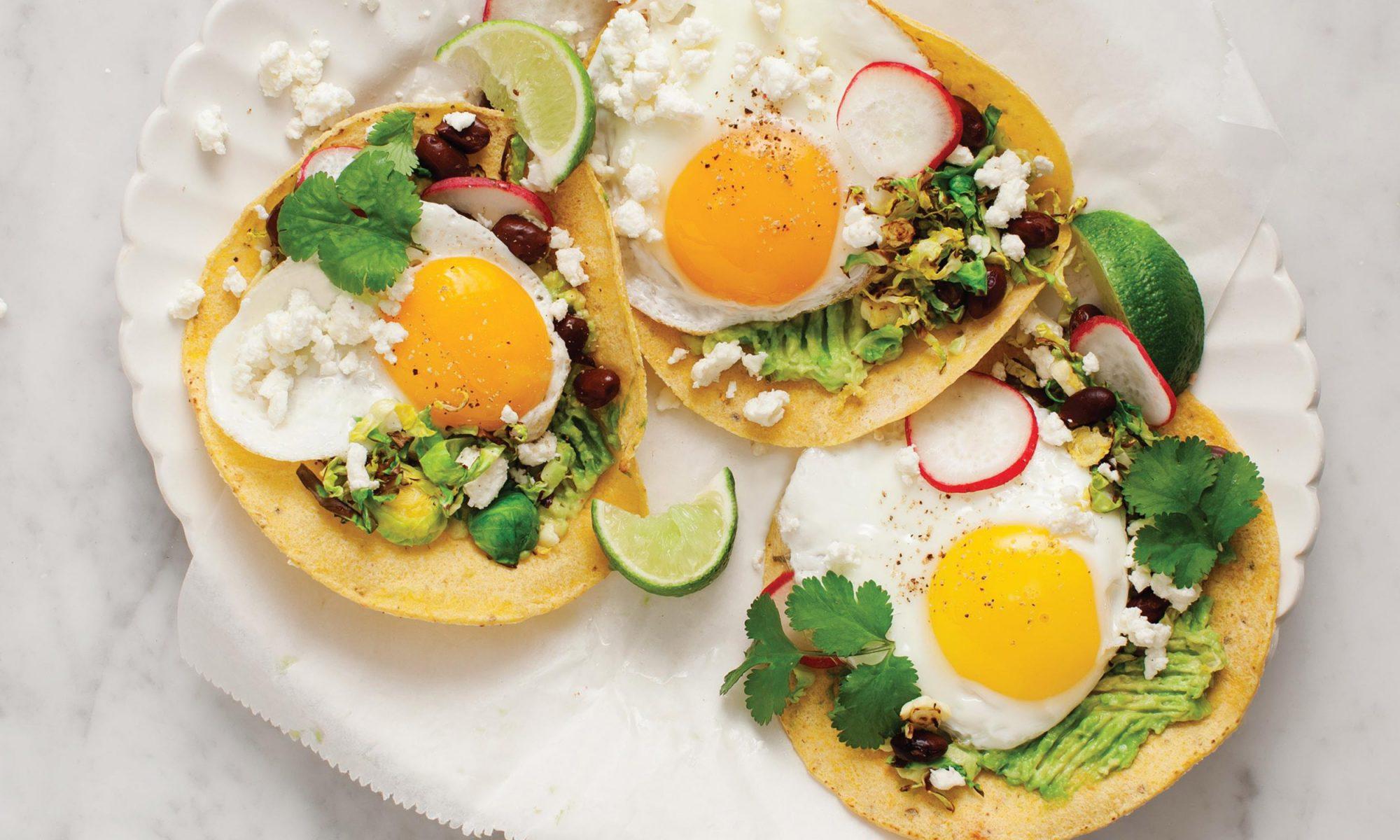 EC: Brussels Sprouts Breakfast Tostadas Recipe