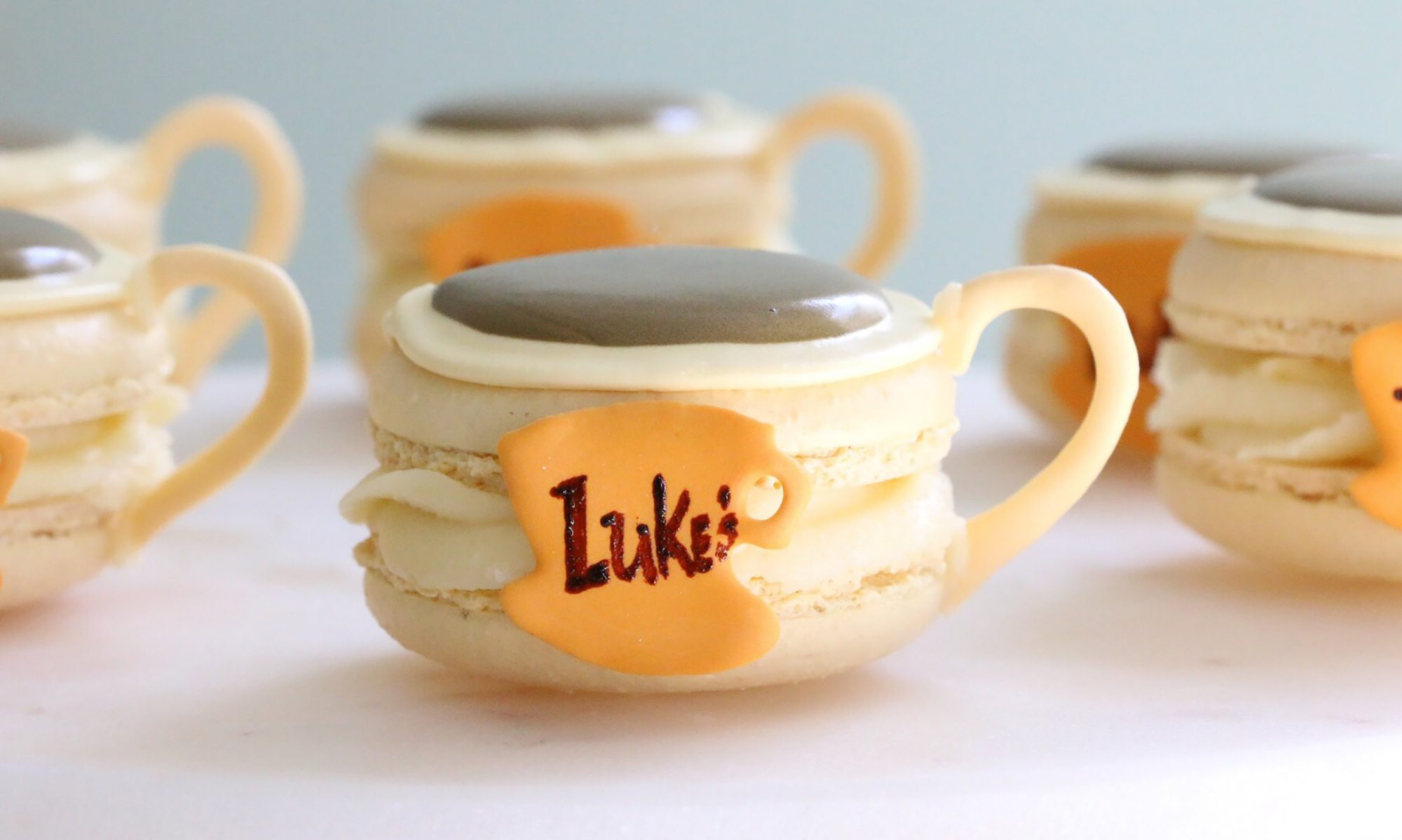 EC: Make These Luke's Diner Macarons for Your 'Gilmore Girls' Viewing Party