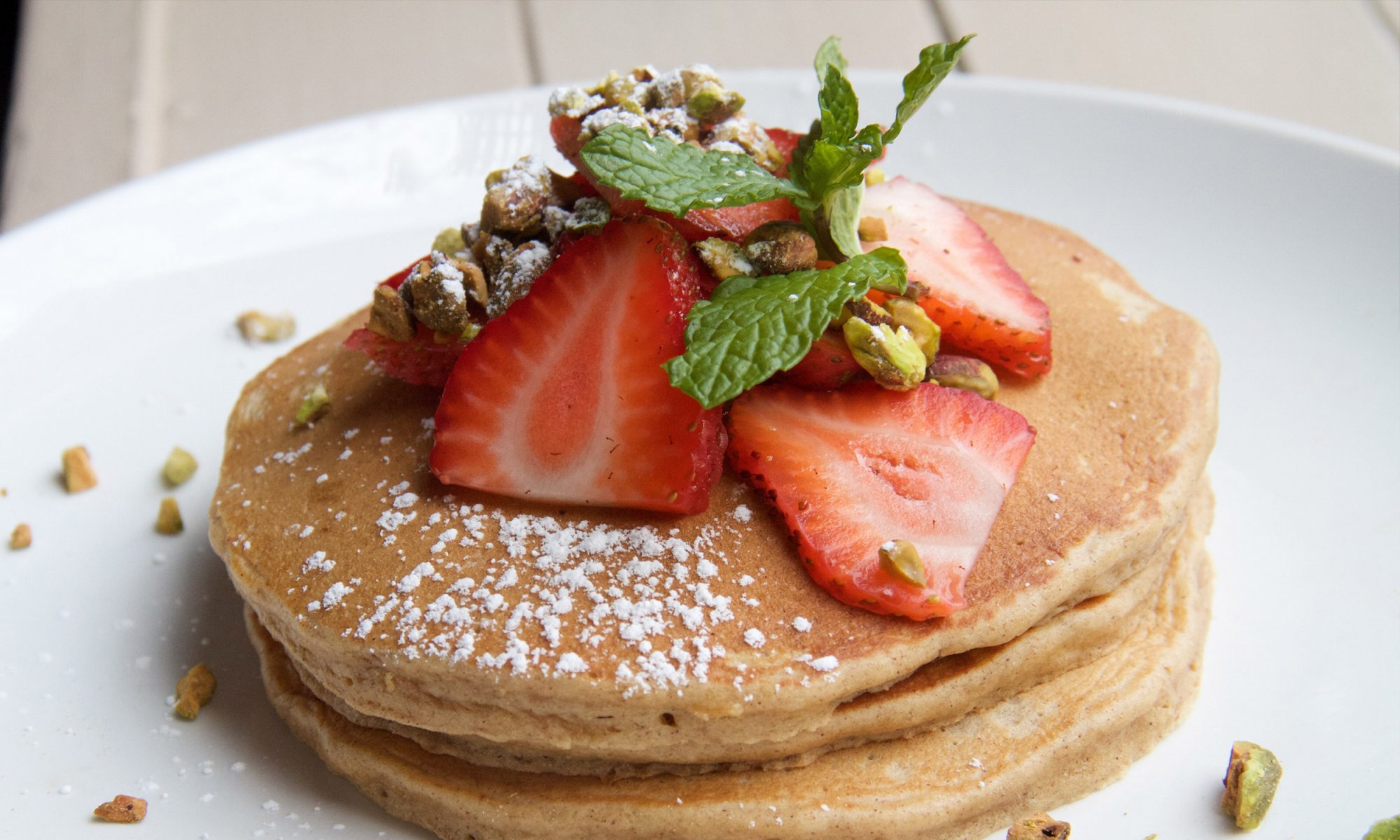 Coconut and Quinoa Pancakes Make the Perfect Healthy Stack