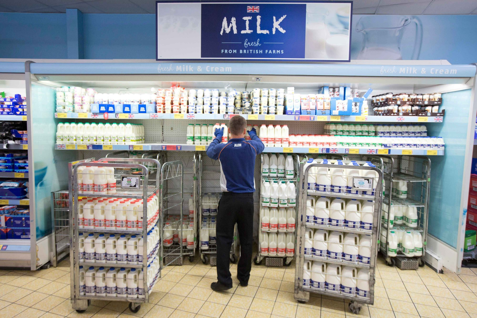 EC: Milk Is Always in the Back of the Grocery Store. But Why?