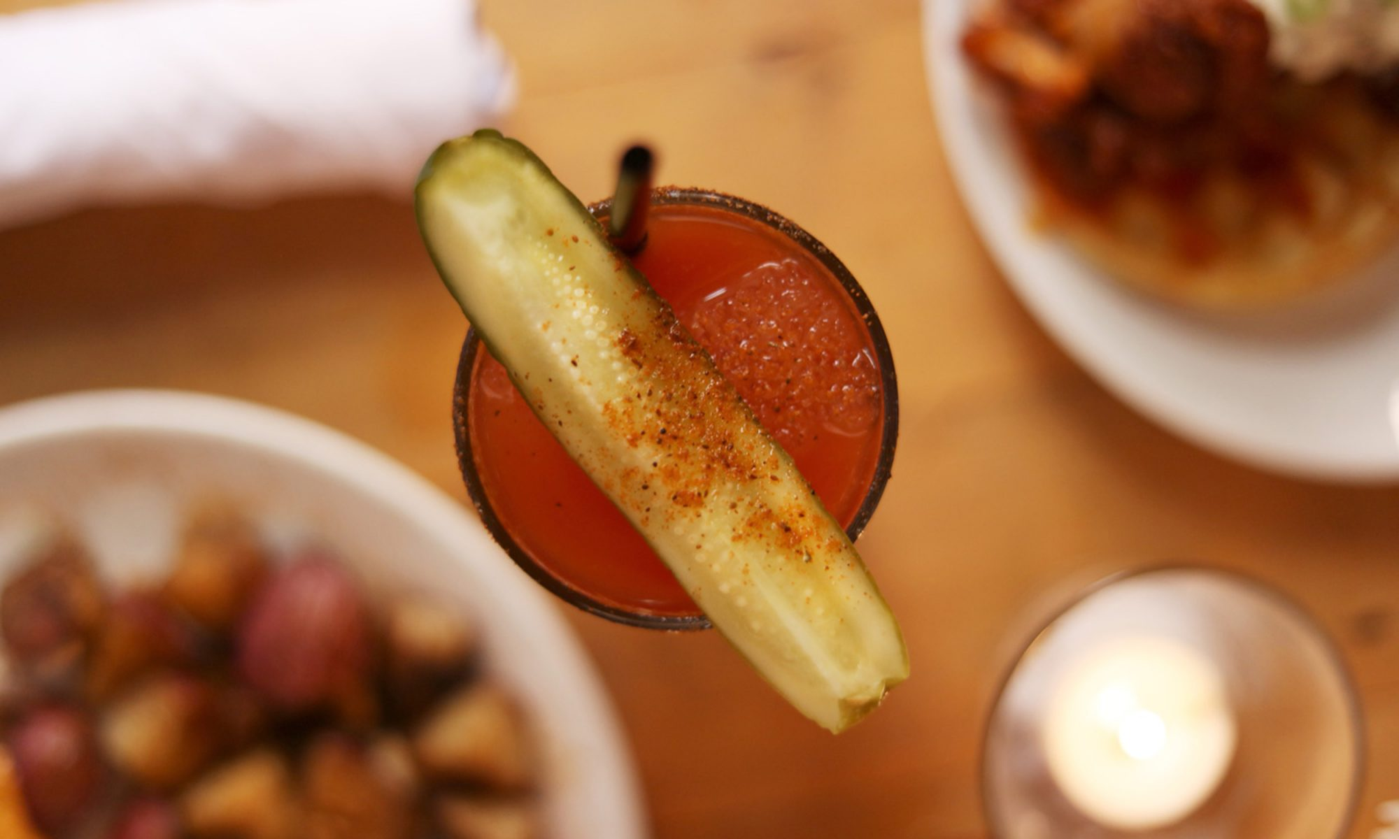 Mother's Bloody Mary (with a Hefty Kick)