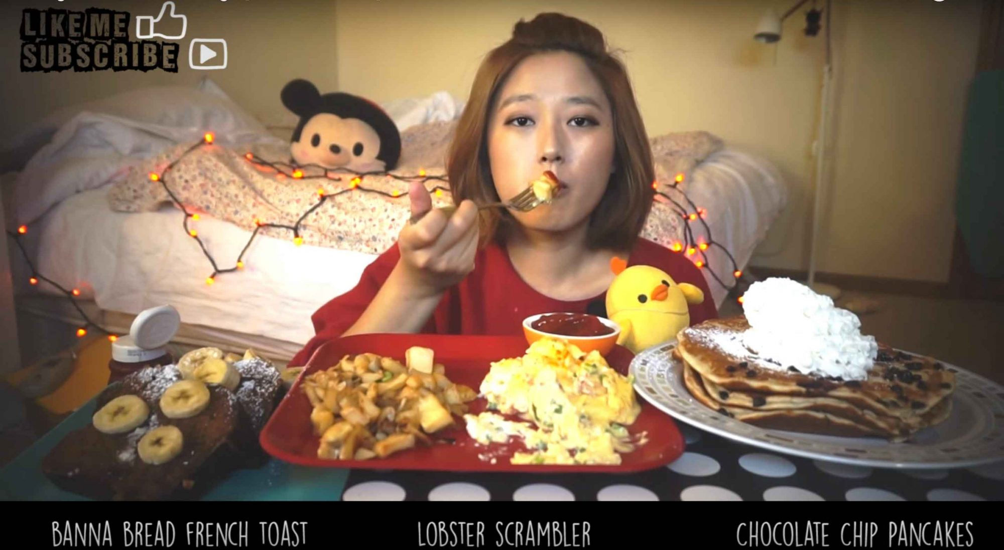 EC: Watch People Eat Heaping Portions of Breakfast on YouTube