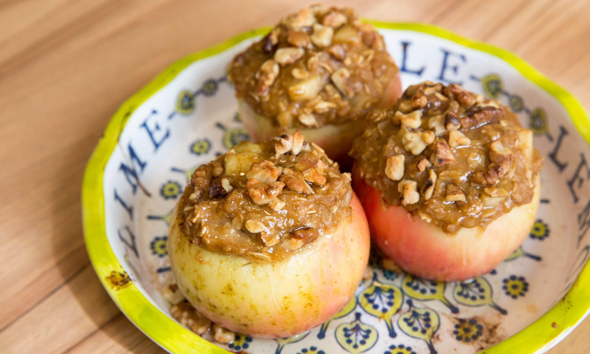 Stuff Your Baked Apples with Oatmeal and Bliss