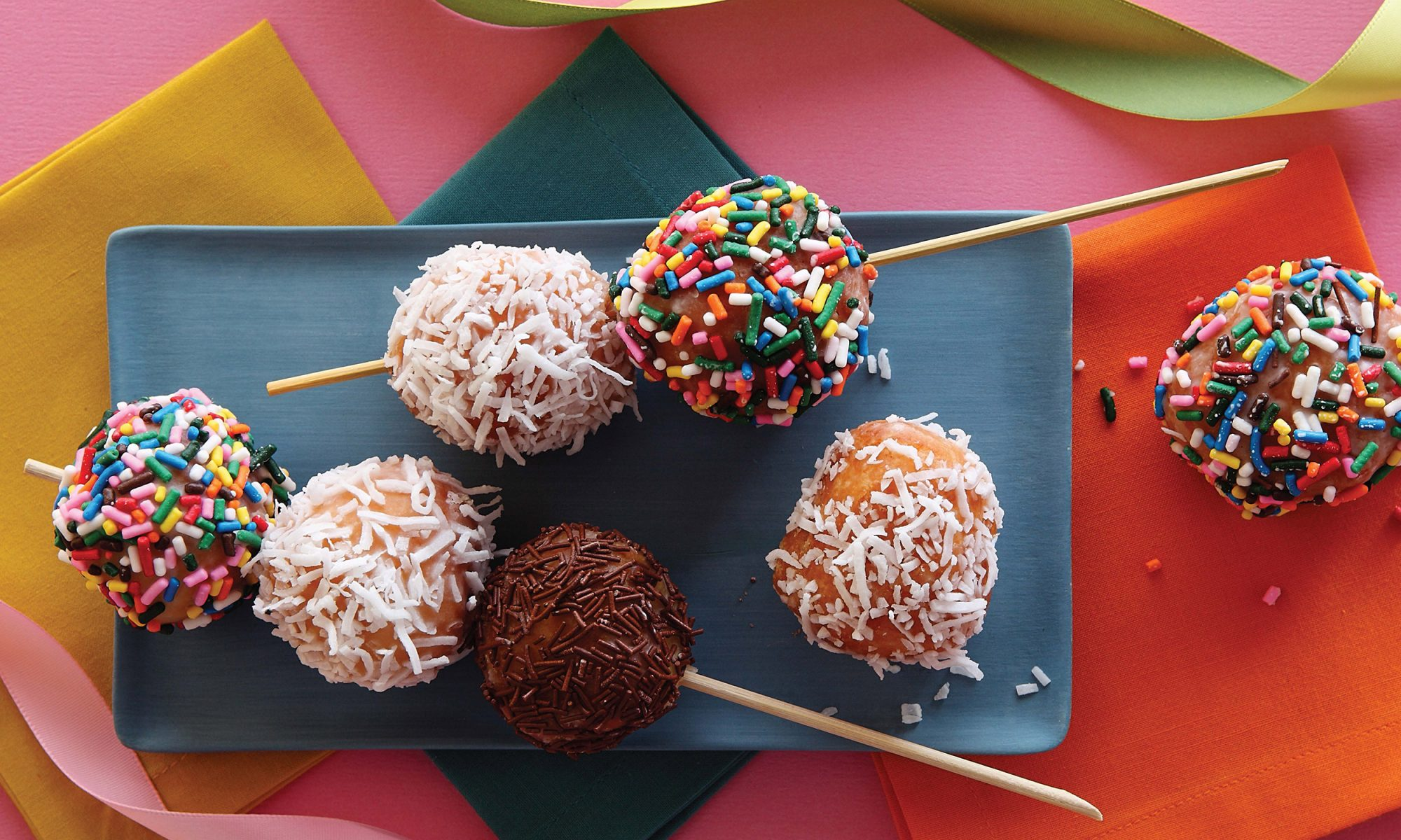 EC: Doughnut Holes with Sugar Glaze and Whatever Toppings Make You Happy