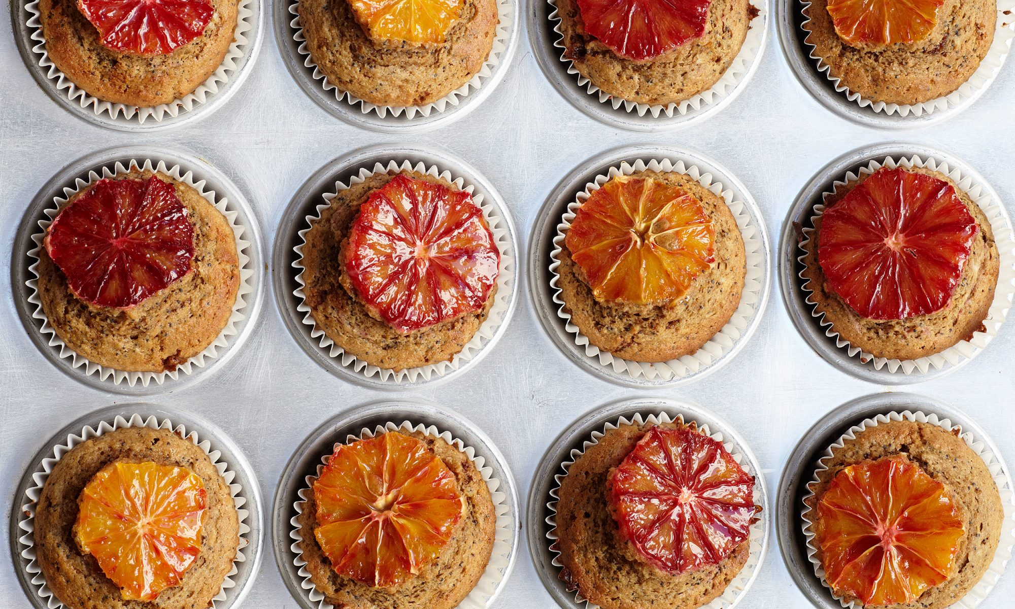 Go Loco for Orange and Coconut Poppyseed Muffins