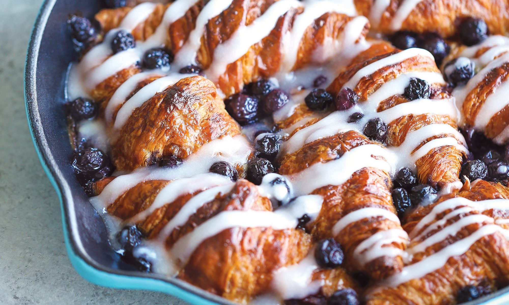 EC: Overnight Blueberry Croissant Breakfast Bake Is a Recipe for Sweet Dreams