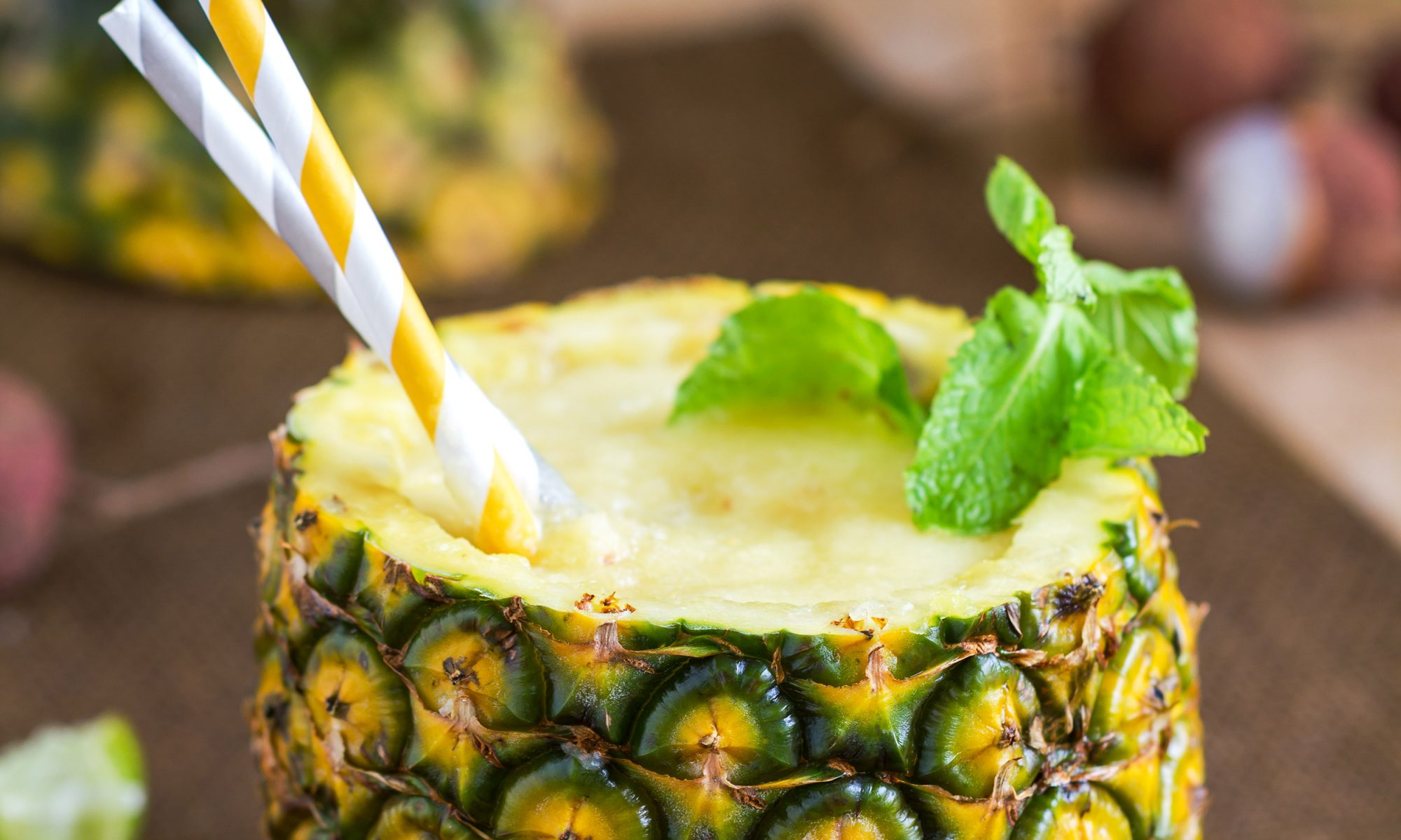 EC: This Minty Pineapple Smoothie Is a Sweet Reminder of Rio