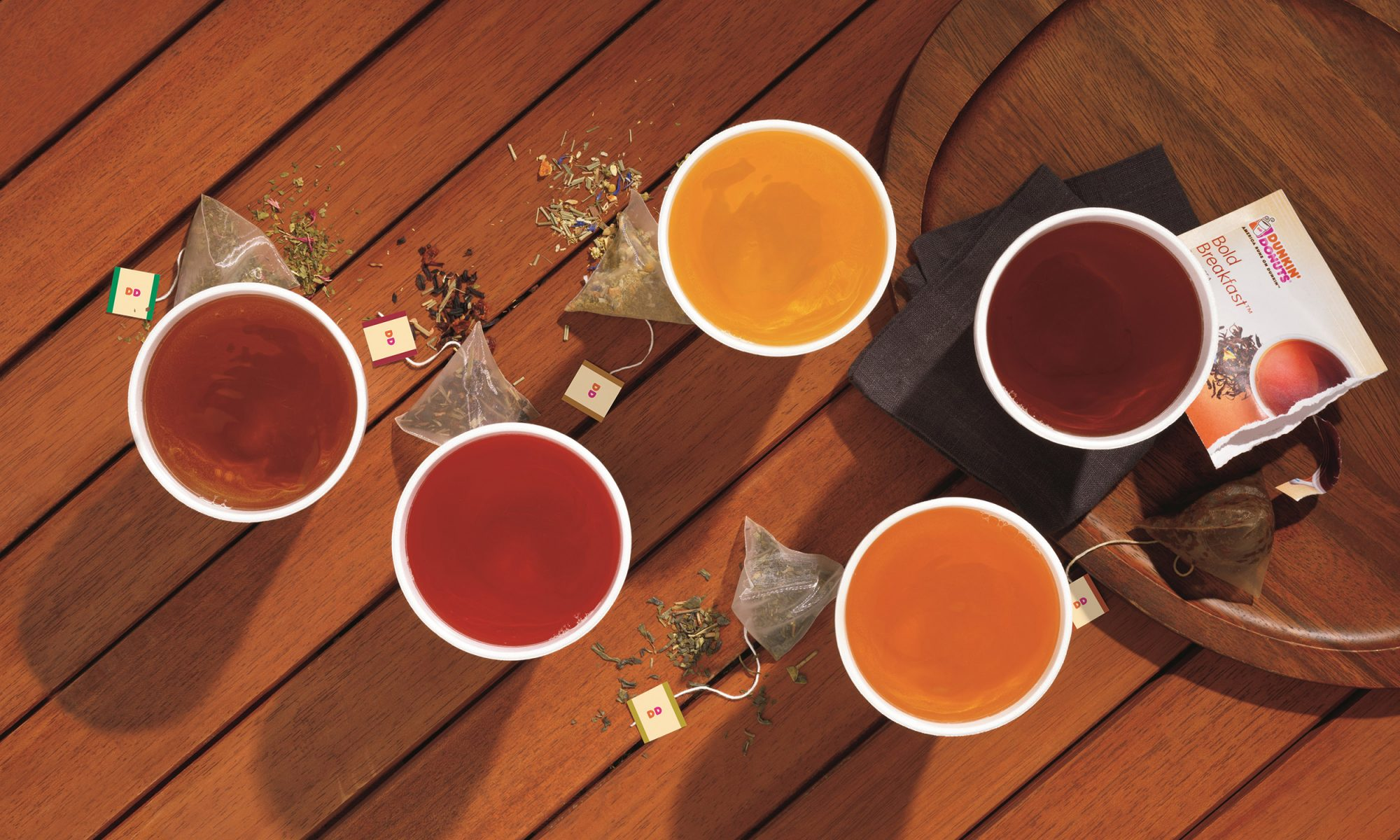 EC: Dunkin' Donuts Launches Premium Hot Teas to Woo Young People