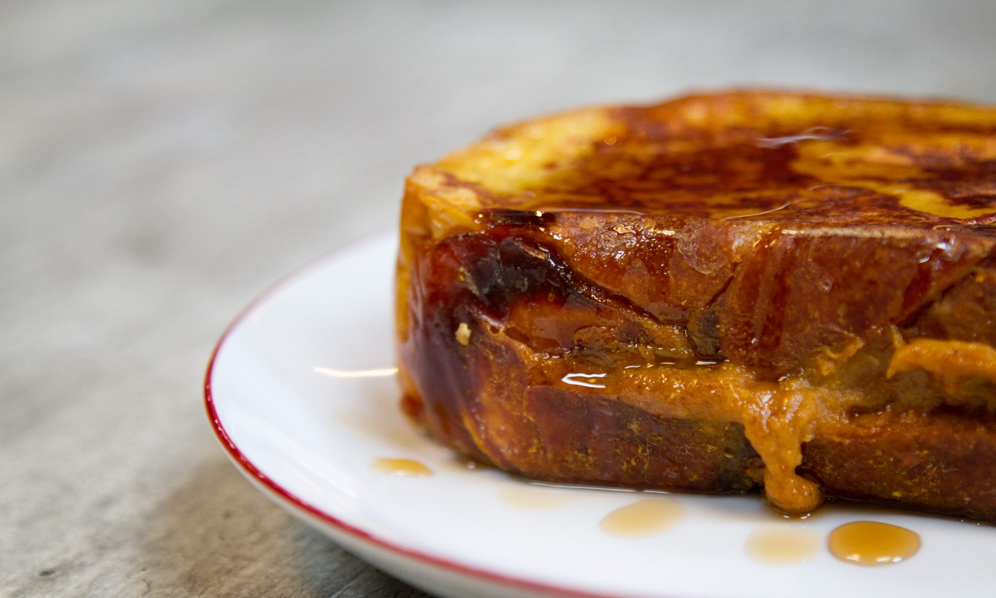 EC: Stuff Your French Toast with Leftover Pumpkin Pie