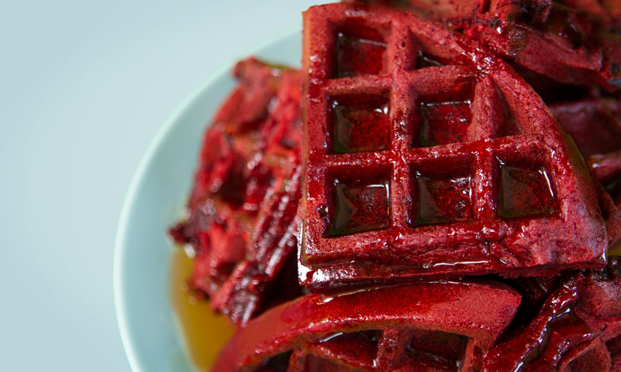 EC: Red Velvet Waffles Are Cake's Answer to Breakfast
