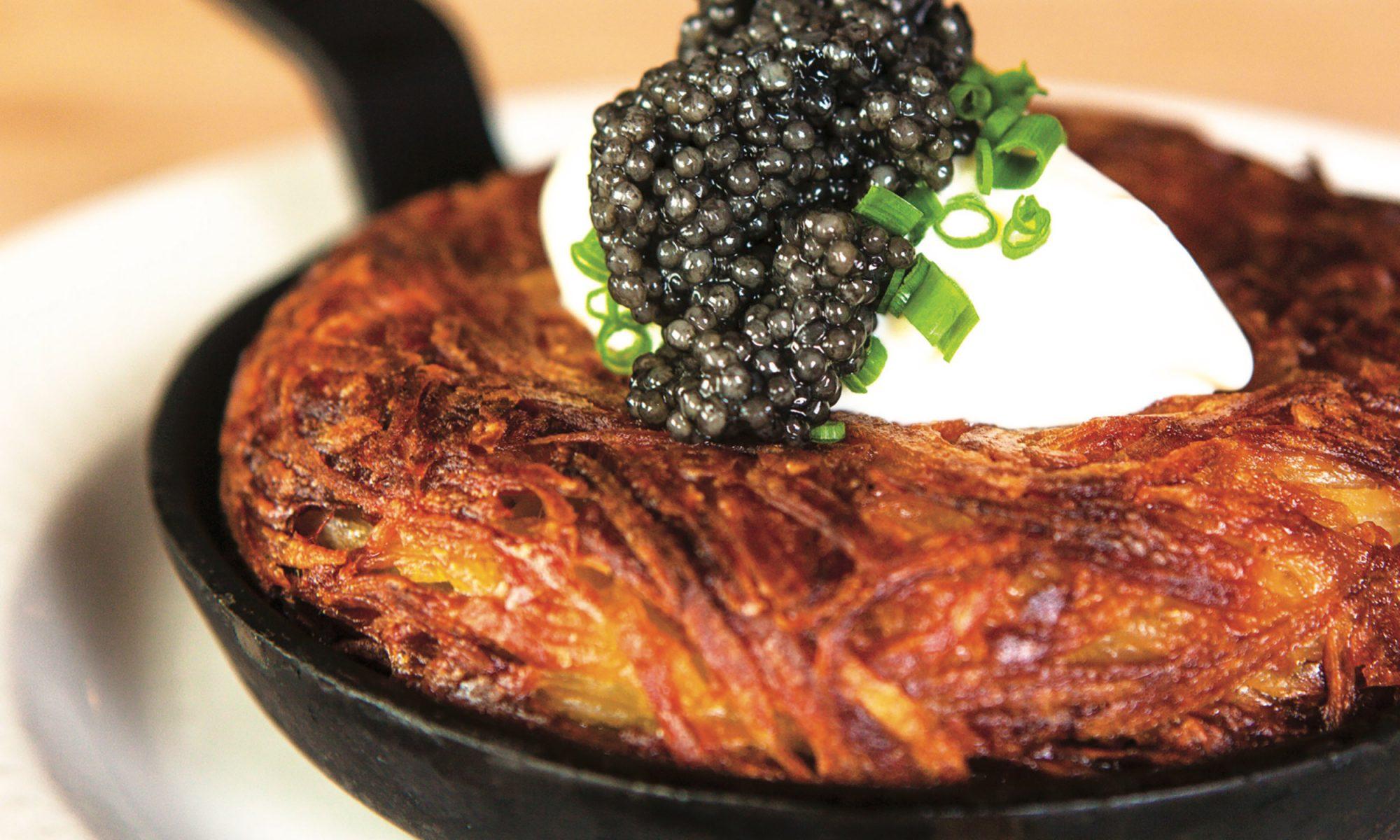 EC: Treat Yourself to Caviar and Cream-Topped Potato Rösti