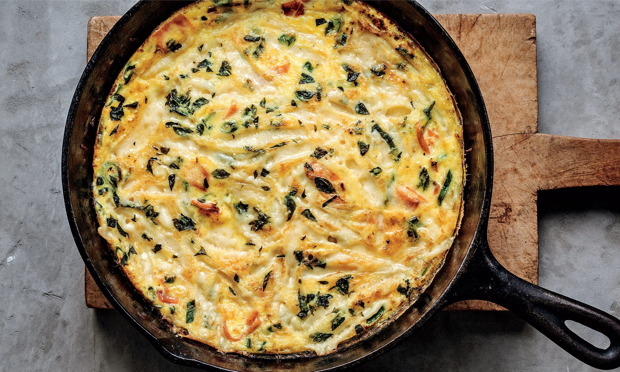 EC: An Easy Salmon Frittata You Can Make in 15 Minutes