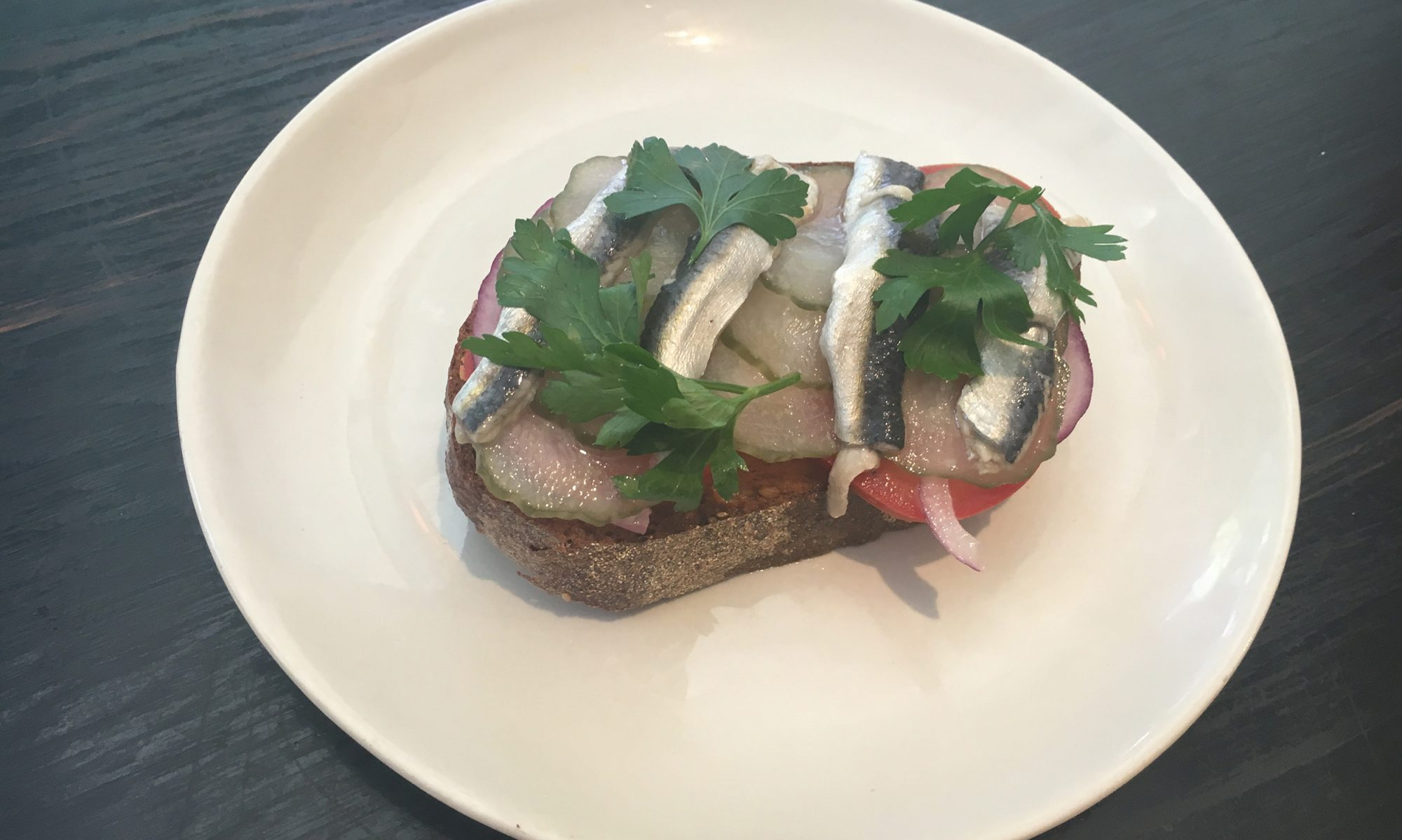 Have Sardines for Breakfast with This Italian Toast