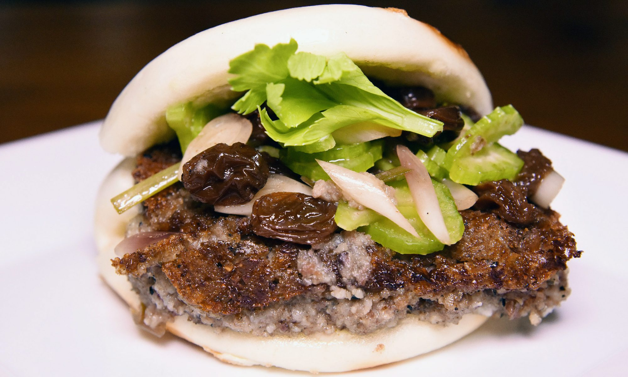 Scrapple Steamed Buns You'll Totally Pig Out On