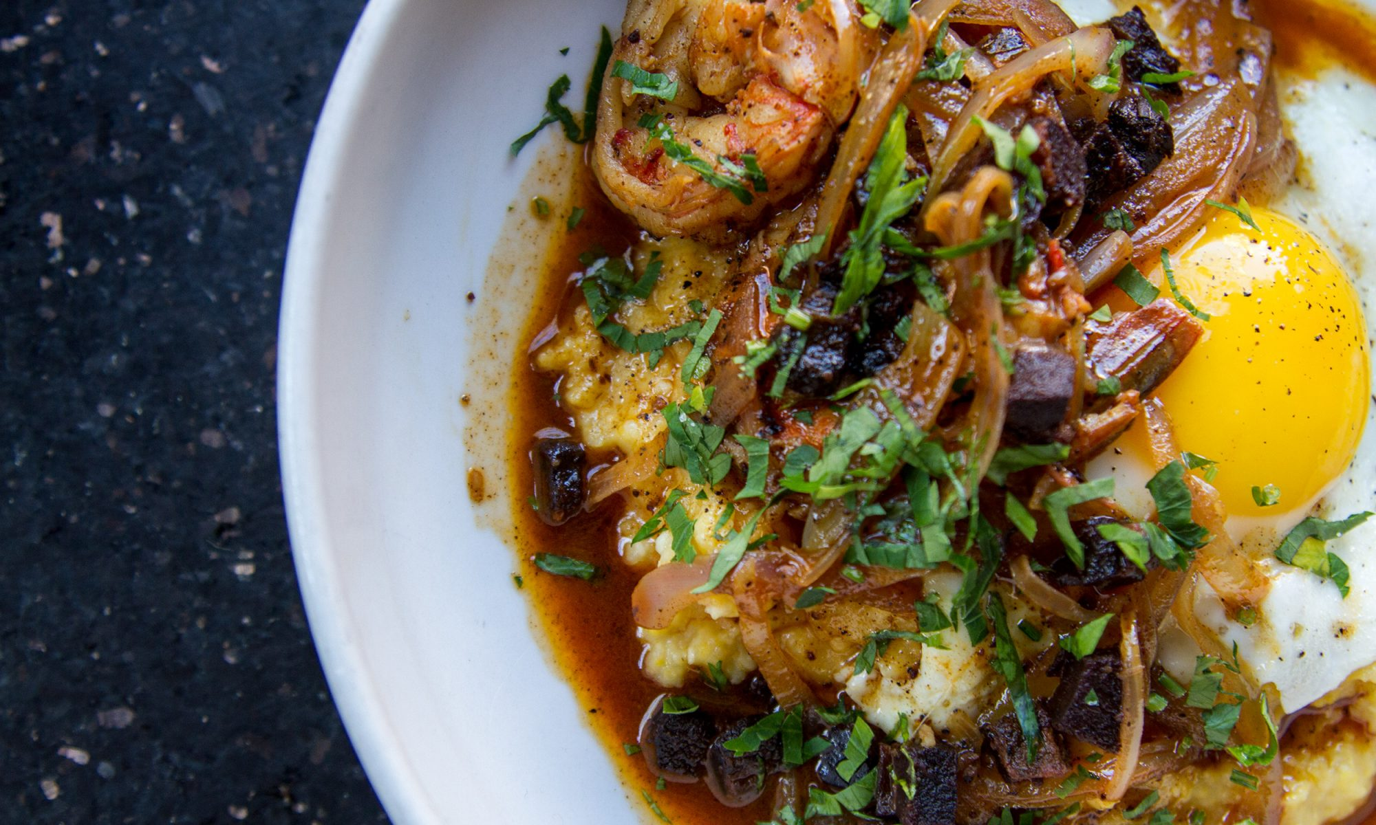 This Italian-Style Shrimp and Grits Recipe Stays True to Its Roots
